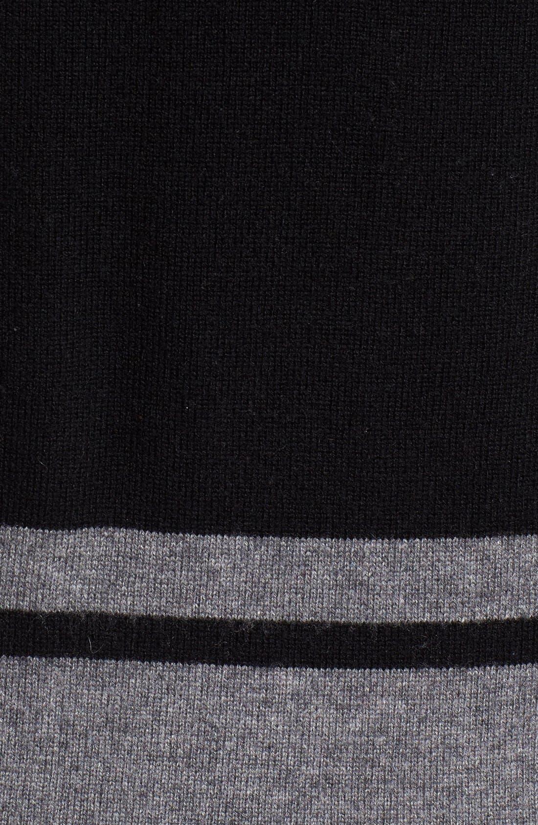 Stripe Wool Blend Sweater,                             Alternate thumbnail 10, color,