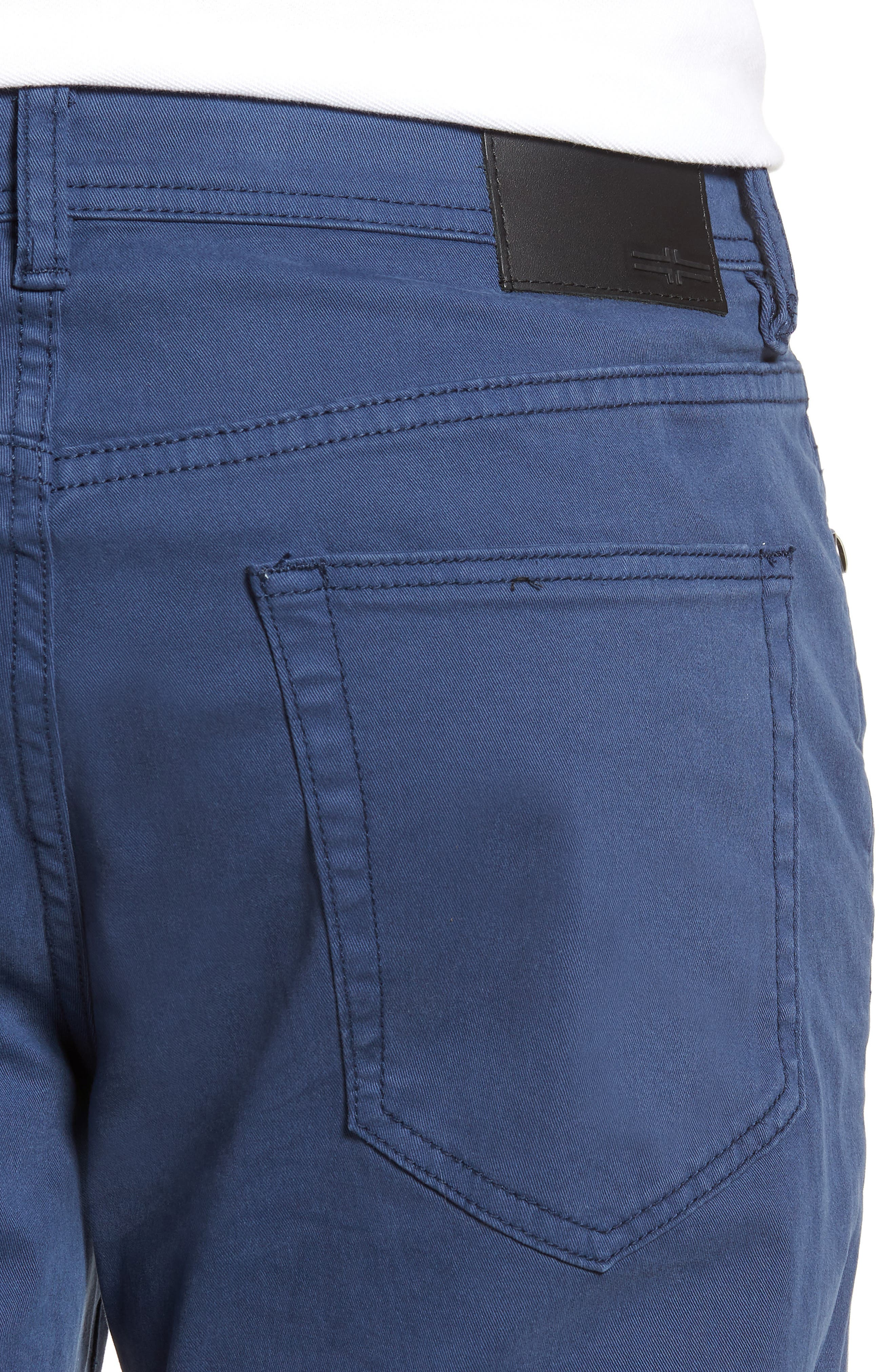 Jeans Co. Regent Relaxed Straight Leg Jeans,                             Alternate thumbnail 4, color,                             BLUE TWILIGHT