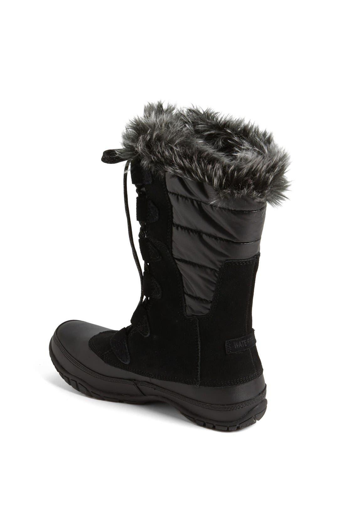 'Nuptse Purna' Waterproof PrimaLoft<sup>®</sup> Eco Insulated Winter Boot,                             Alternate thumbnail 2, color,                             001