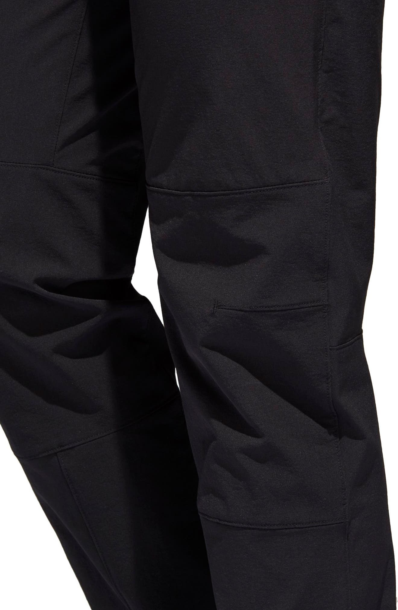 ADIDAS,                             Water-Repellent Pants,                             Alternate thumbnail 9, color,                             001
