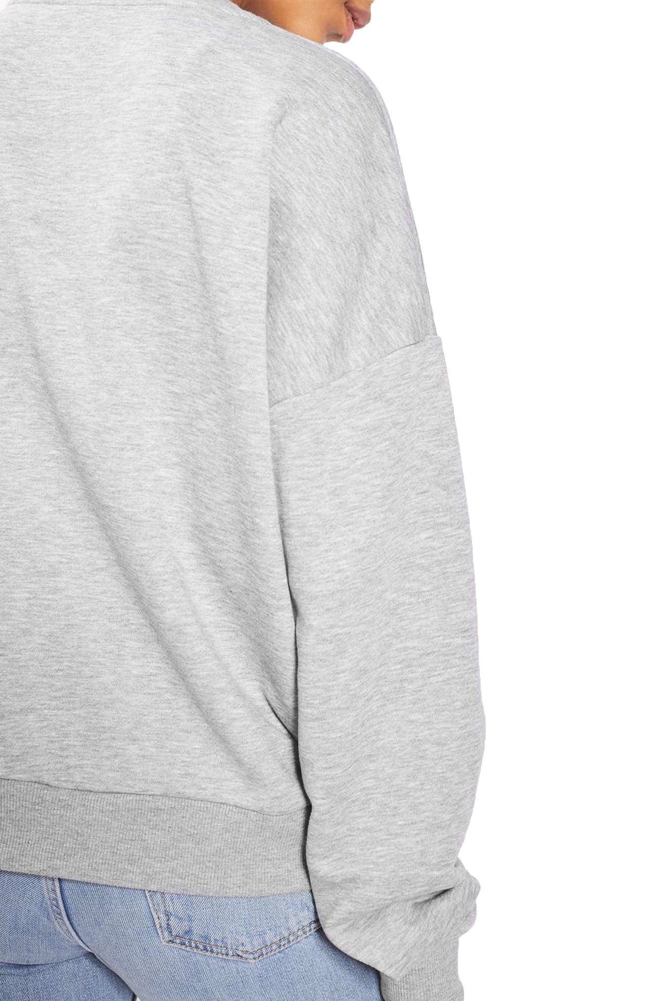 TOPSHOP,                             Feminist Sweatshirt,                             Alternate thumbnail 2, color,                             020