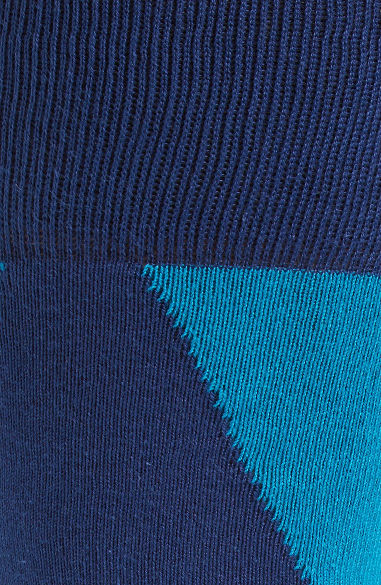Geo Geometric Socks,                             Alternate thumbnail 2, color,                             400
