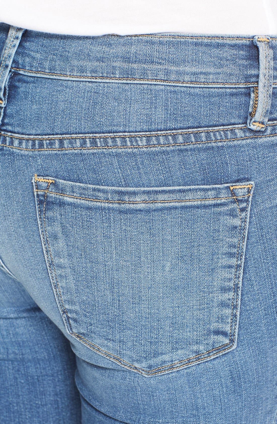 FRAME,                             'Le Skinny de Jeanne' Jeans,                             Alternate thumbnail 5, color,                             402