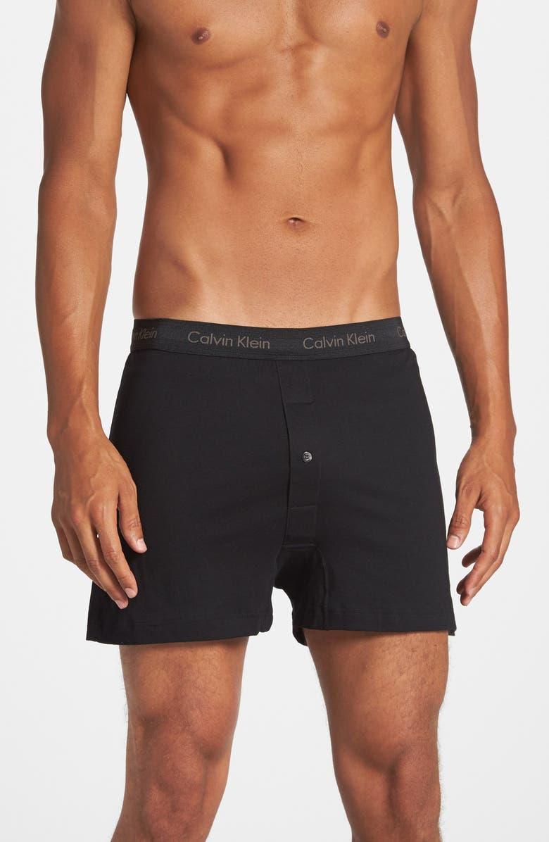 Calvin Klein 3-Pack Cotton Boxers  8e8fb2ff82