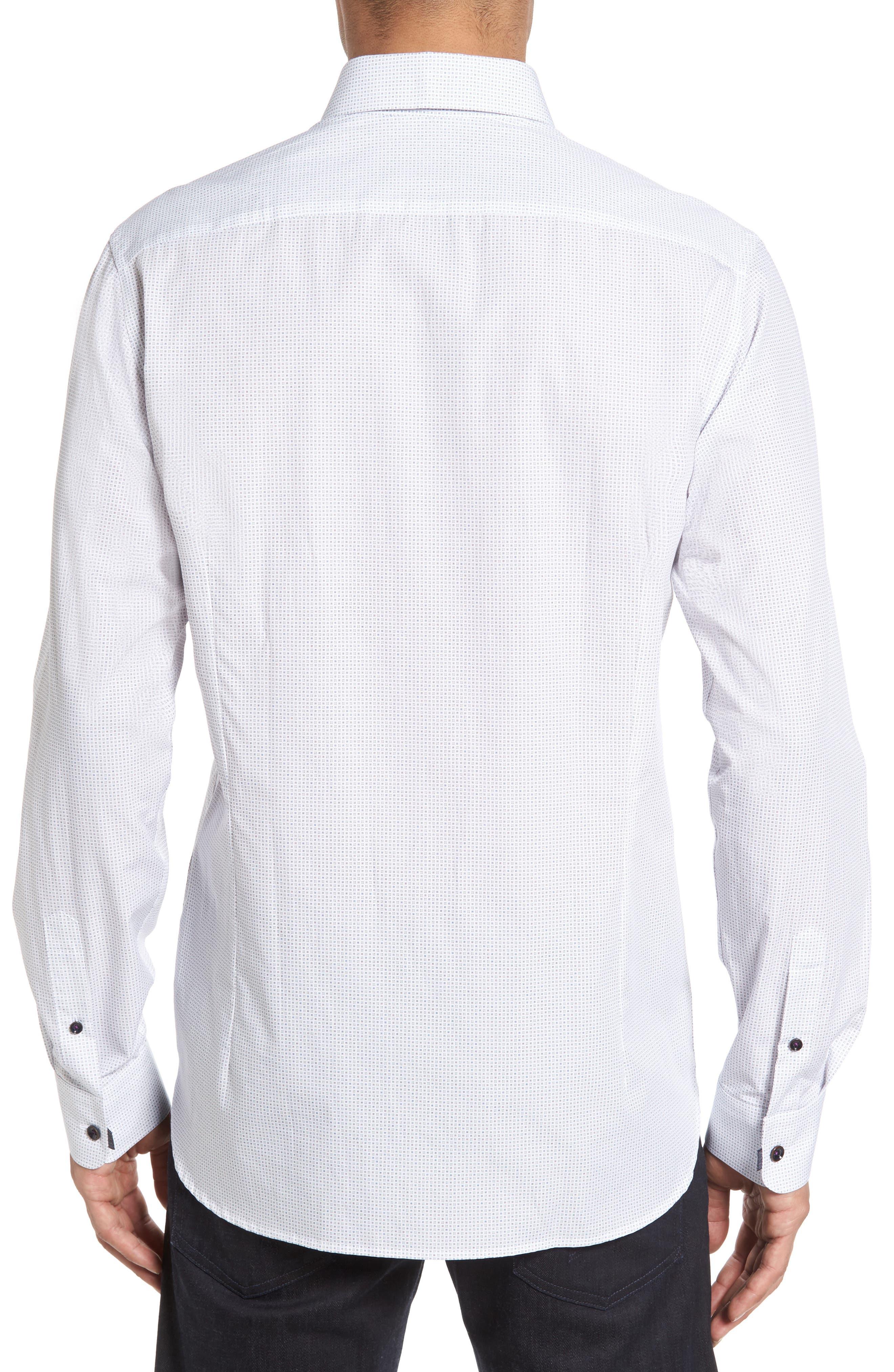 Arkells Modern Slim Fit Print Sport Shirt,                             Alternate thumbnail 2, color,