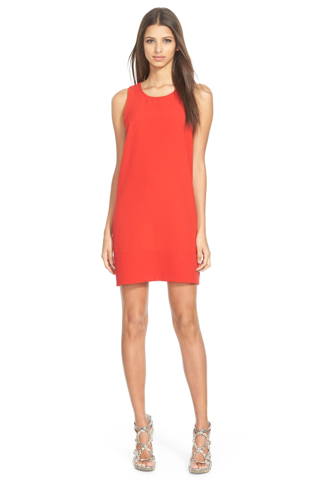 Racerback Shift Dress,                             Main thumbnail 34, color,