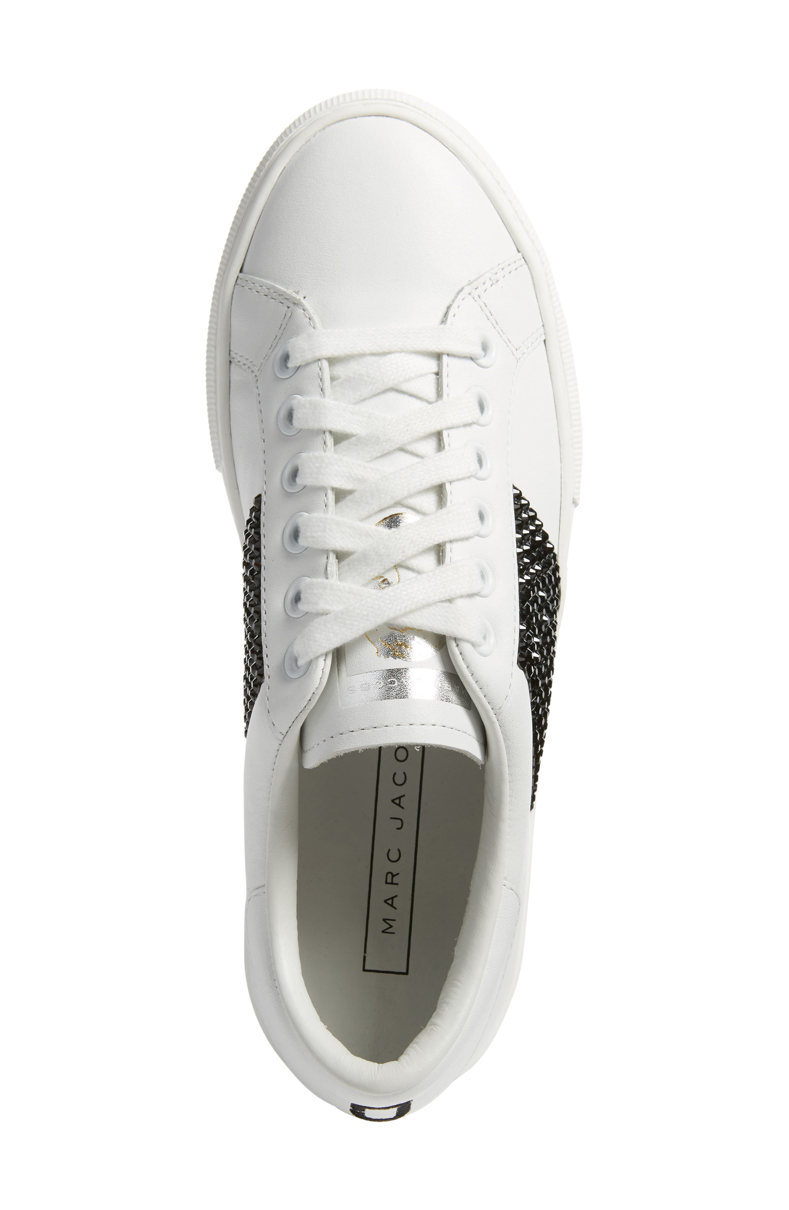 Empire Embellished Sneaker,                             Alternate thumbnail 5, color,                             160