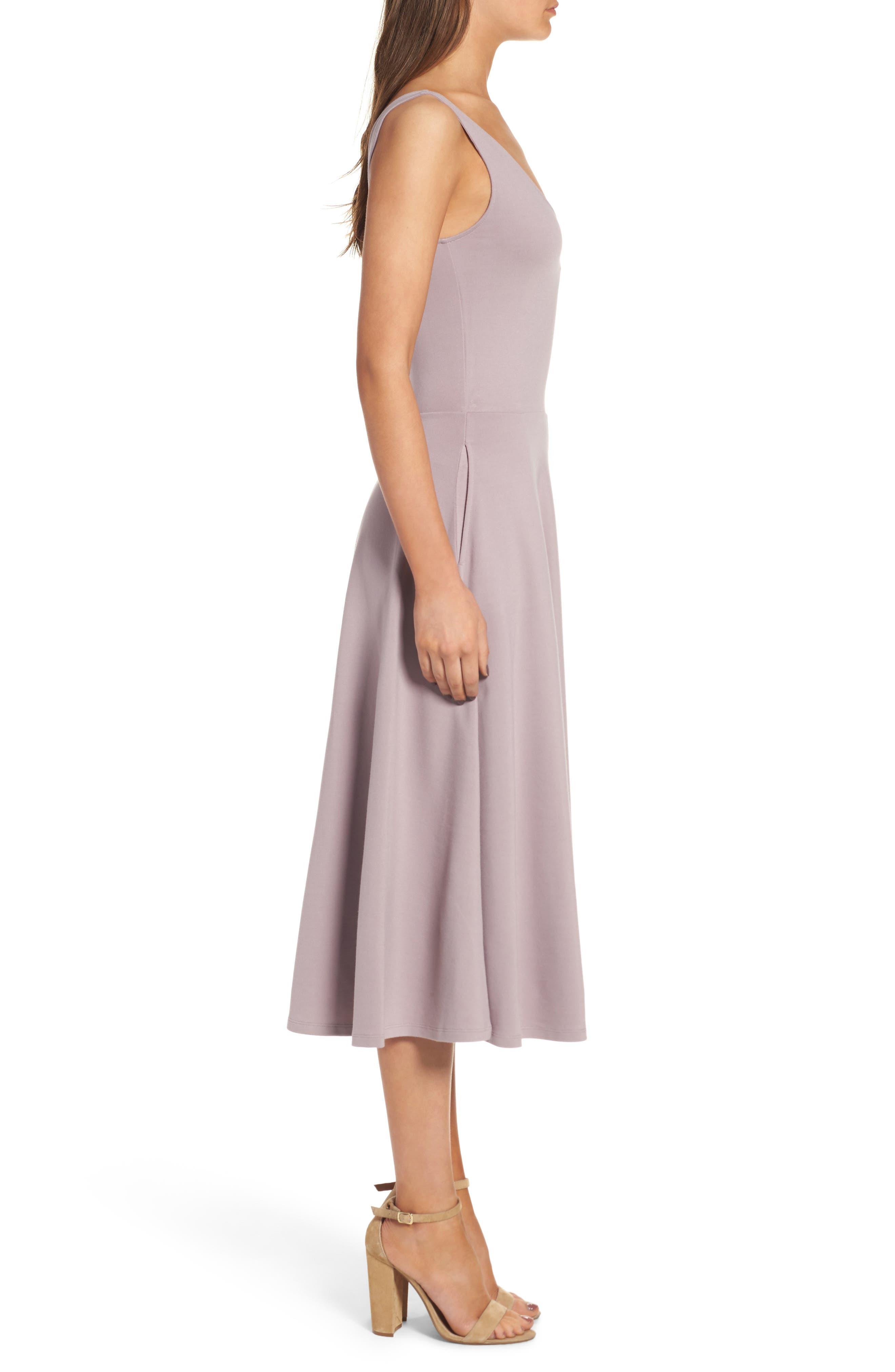 Stretch Knit Midi Dress,                             Alternate thumbnail 29, color,