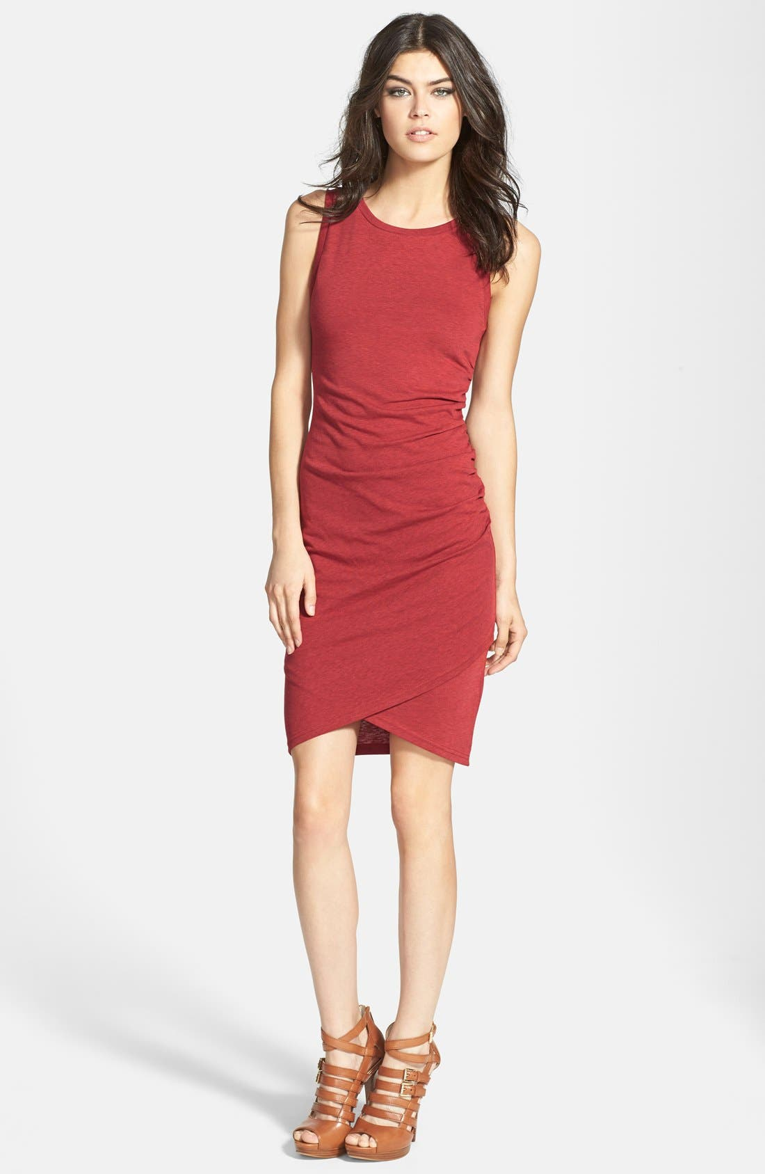 Ruched Body-Con Tank Dress,                             Main thumbnail 31, color,