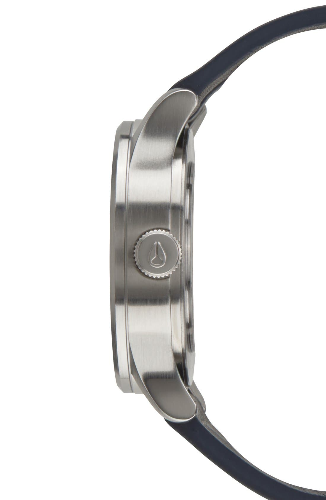 'The Sentry 38' Leather Strap Watch, 38mm,                             Alternate thumbnail 24, color,