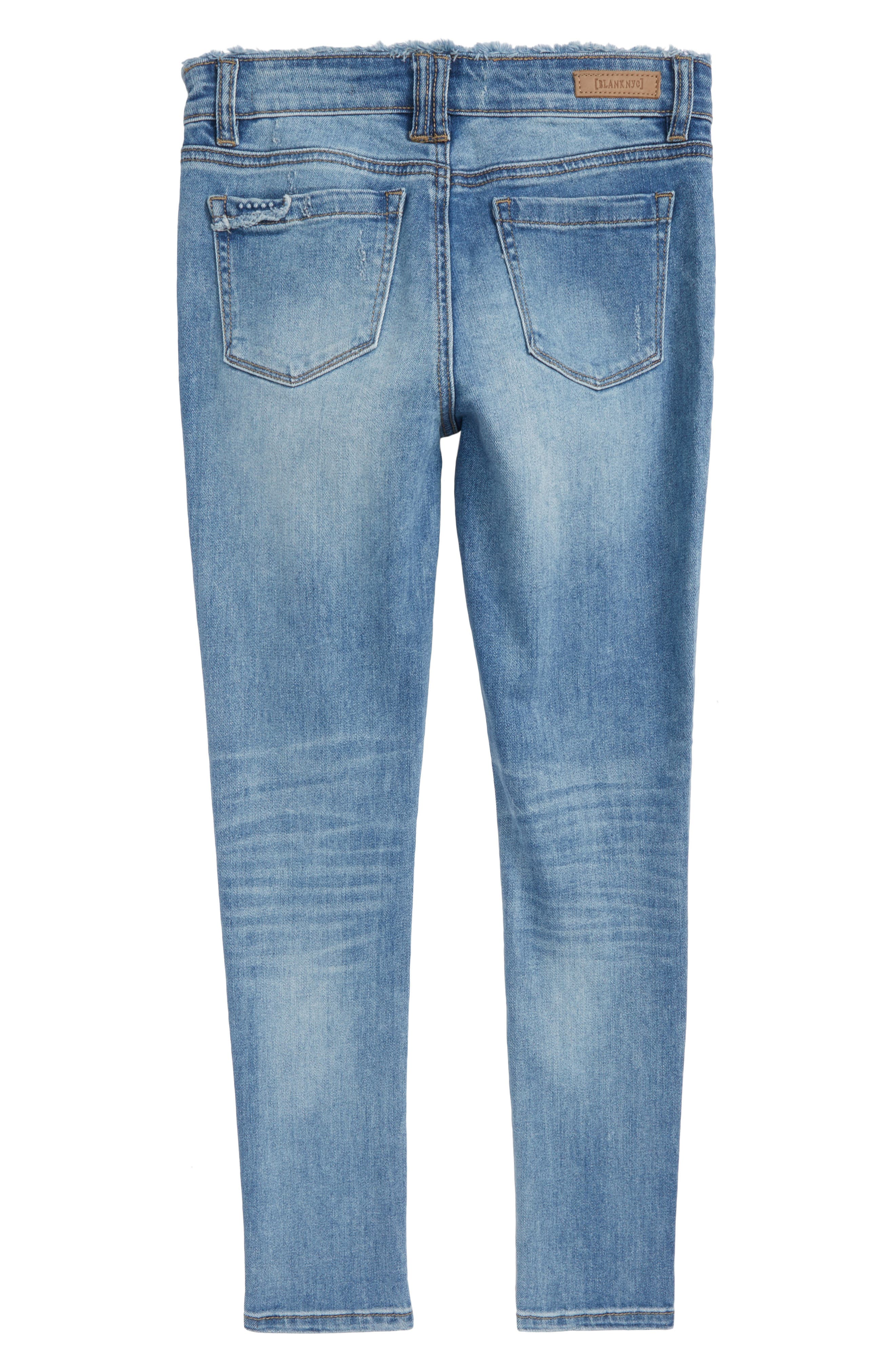 Ripped Boyfriend Jeans,                             Alternate thumbnail 2, color,                             400