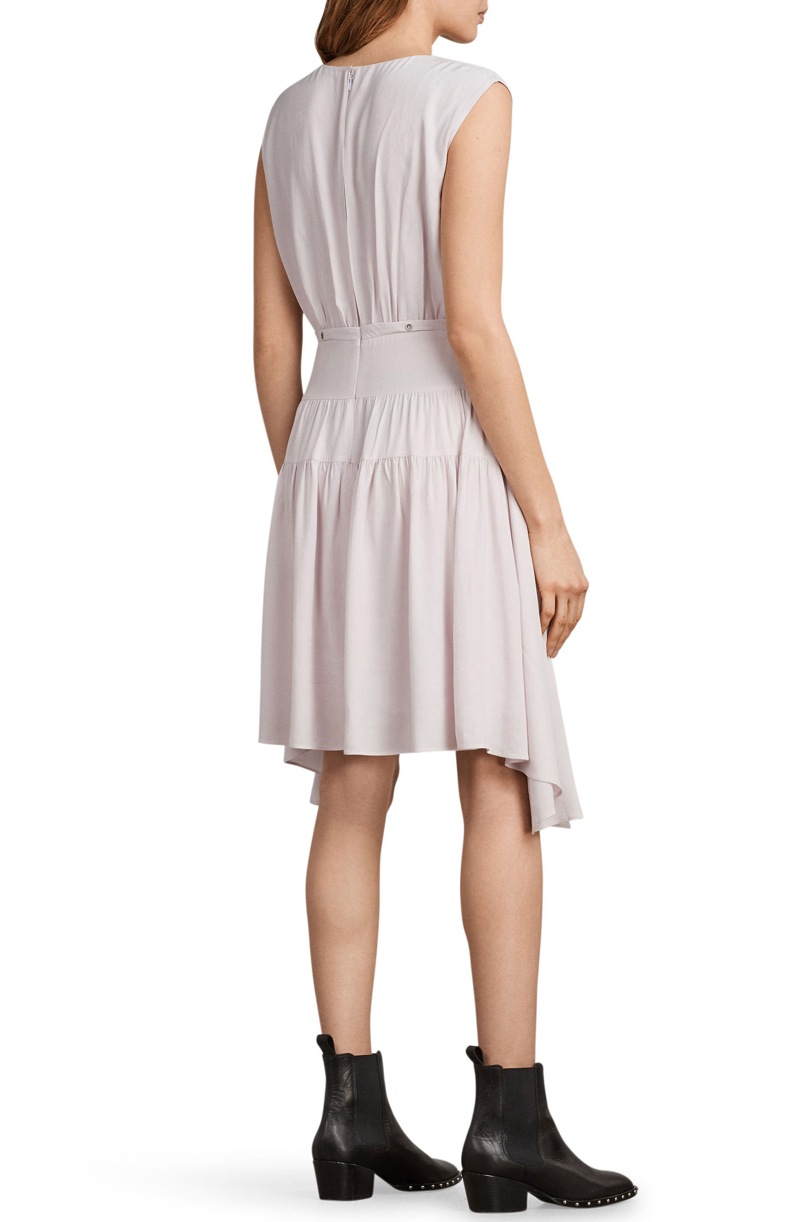 Miller Lace-Up Dress,                             Alternate thumbnail 2, color,                             691