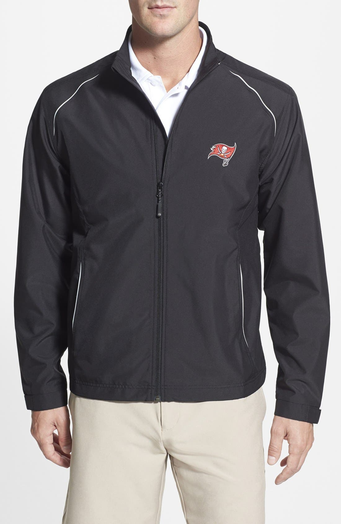 Tampa Bay Buccaneers - Beacon WeatherTec Wind & Water Resistant Jacket,                             Main thumbnail 1, color,                             001