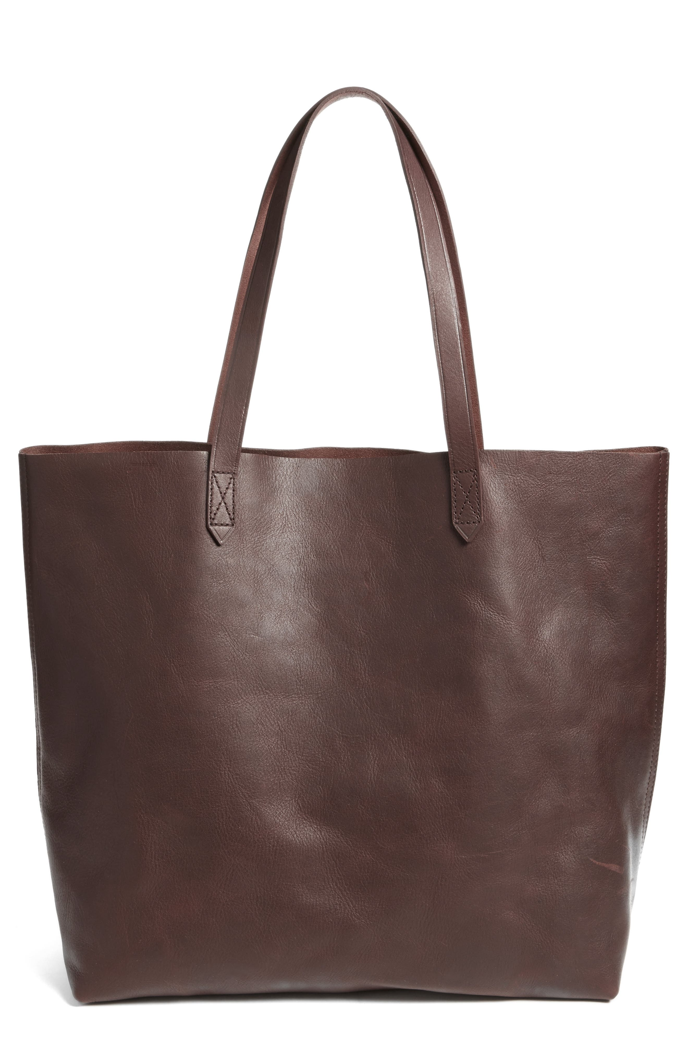 Transport Leather Tote,                         Main,                         color, 606