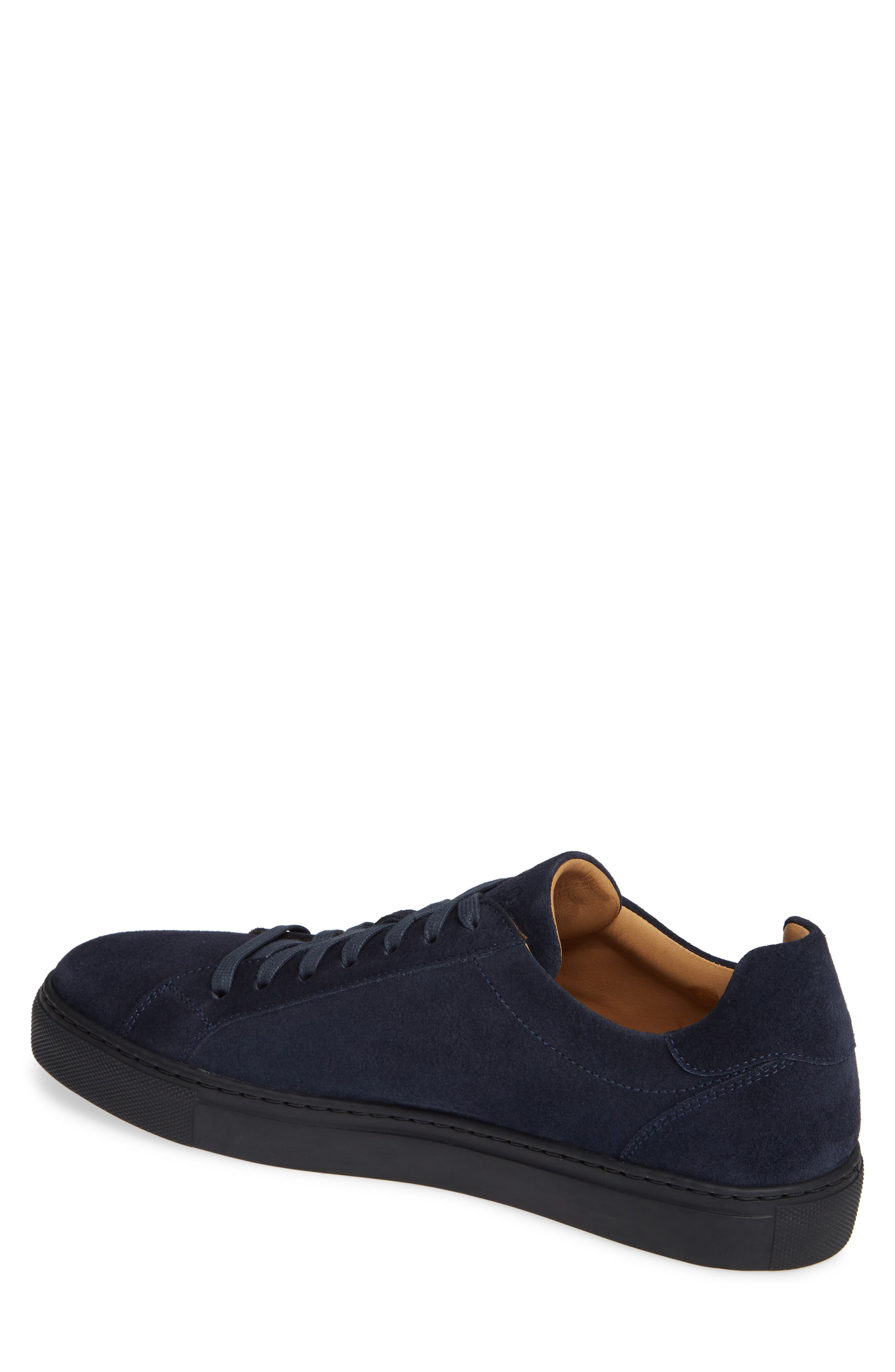 Fede Sneaker,                             Alternate thumbnail 2, color,                             NAVY SUEDE/ LEATHER