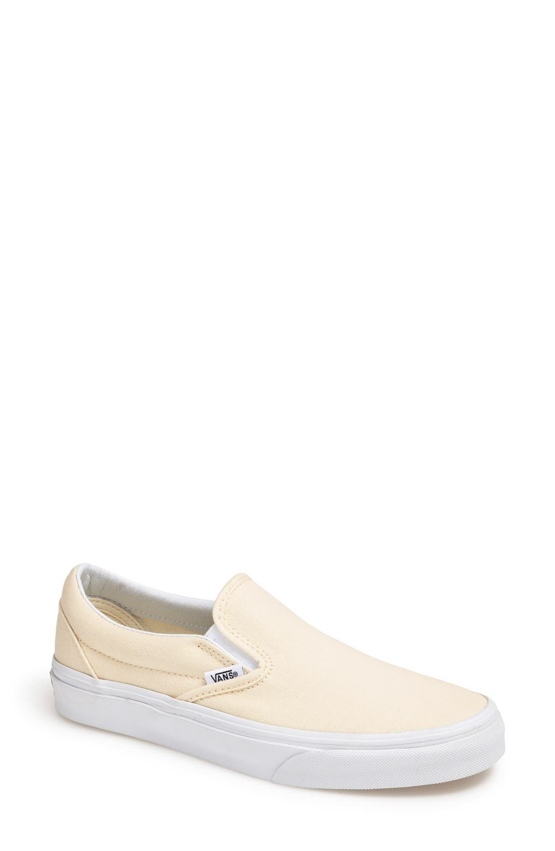 'Classic' Slip-On,                         Main,                         color, WHITE