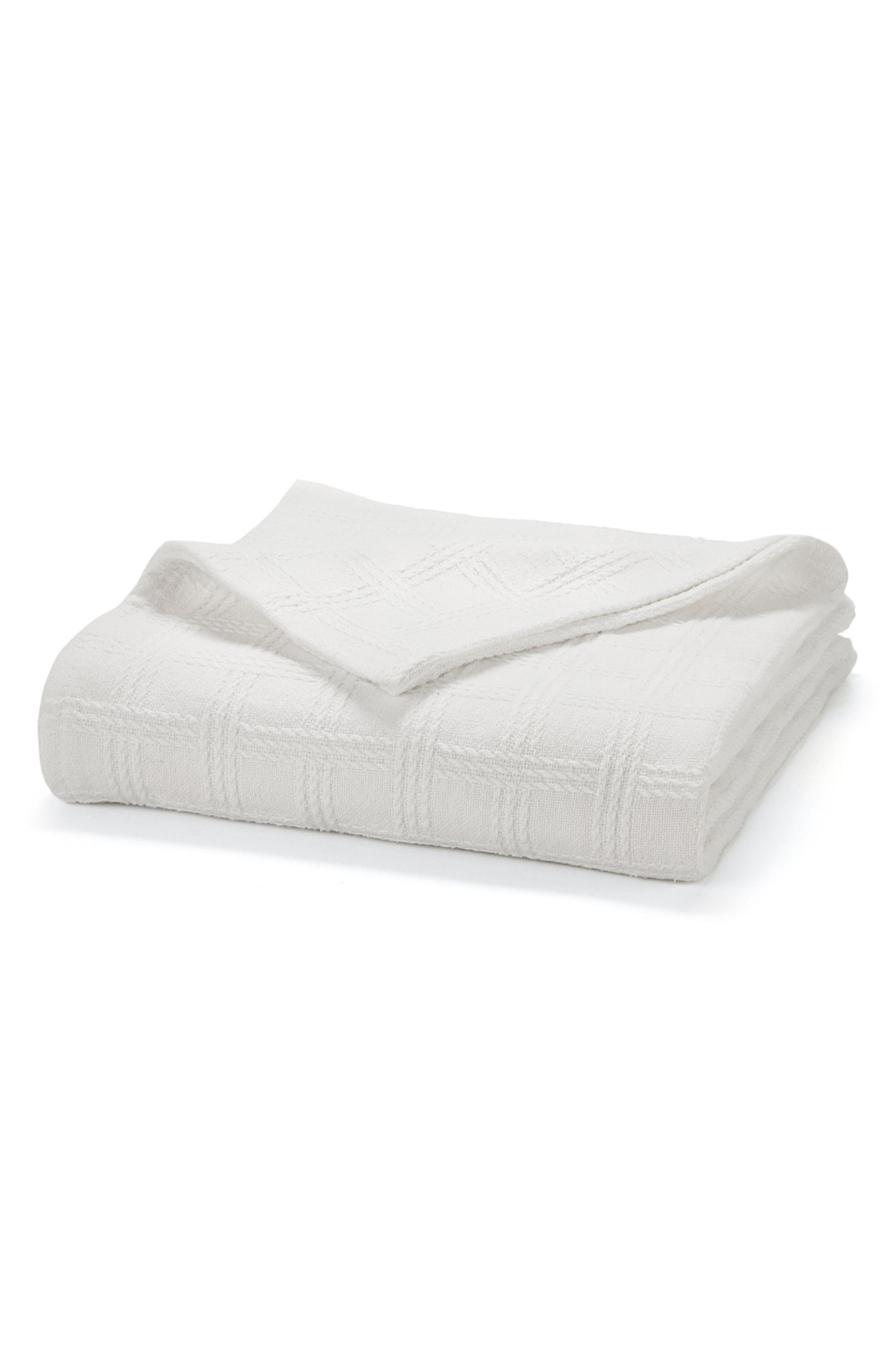 Classic Cotton Twin Size Blanket,                         Main,                         color, 100