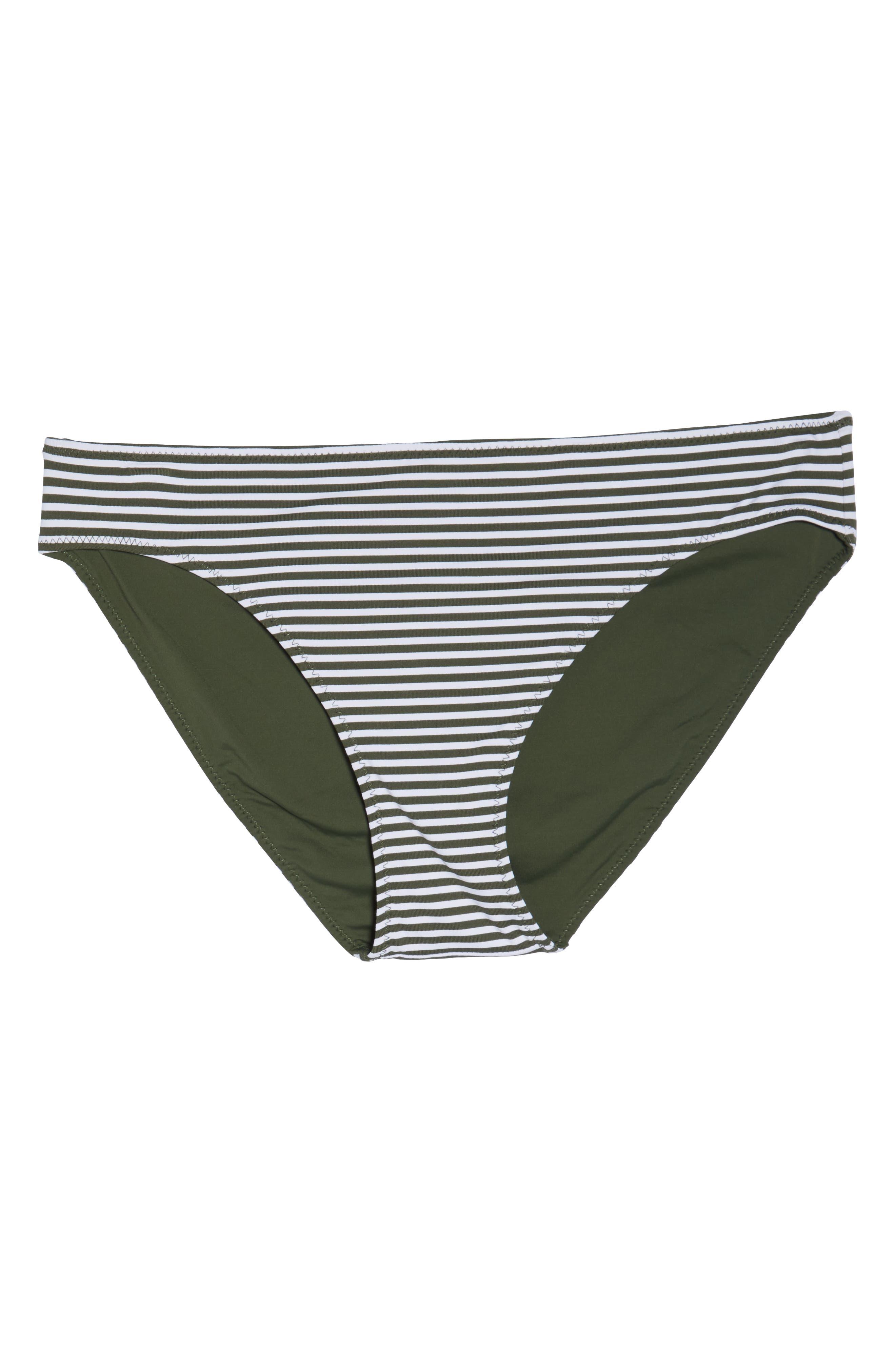 Reversible Hipster Bikini Bottoms,                             Alternate thumbnail 7, color,                             DARK TEA LEAF