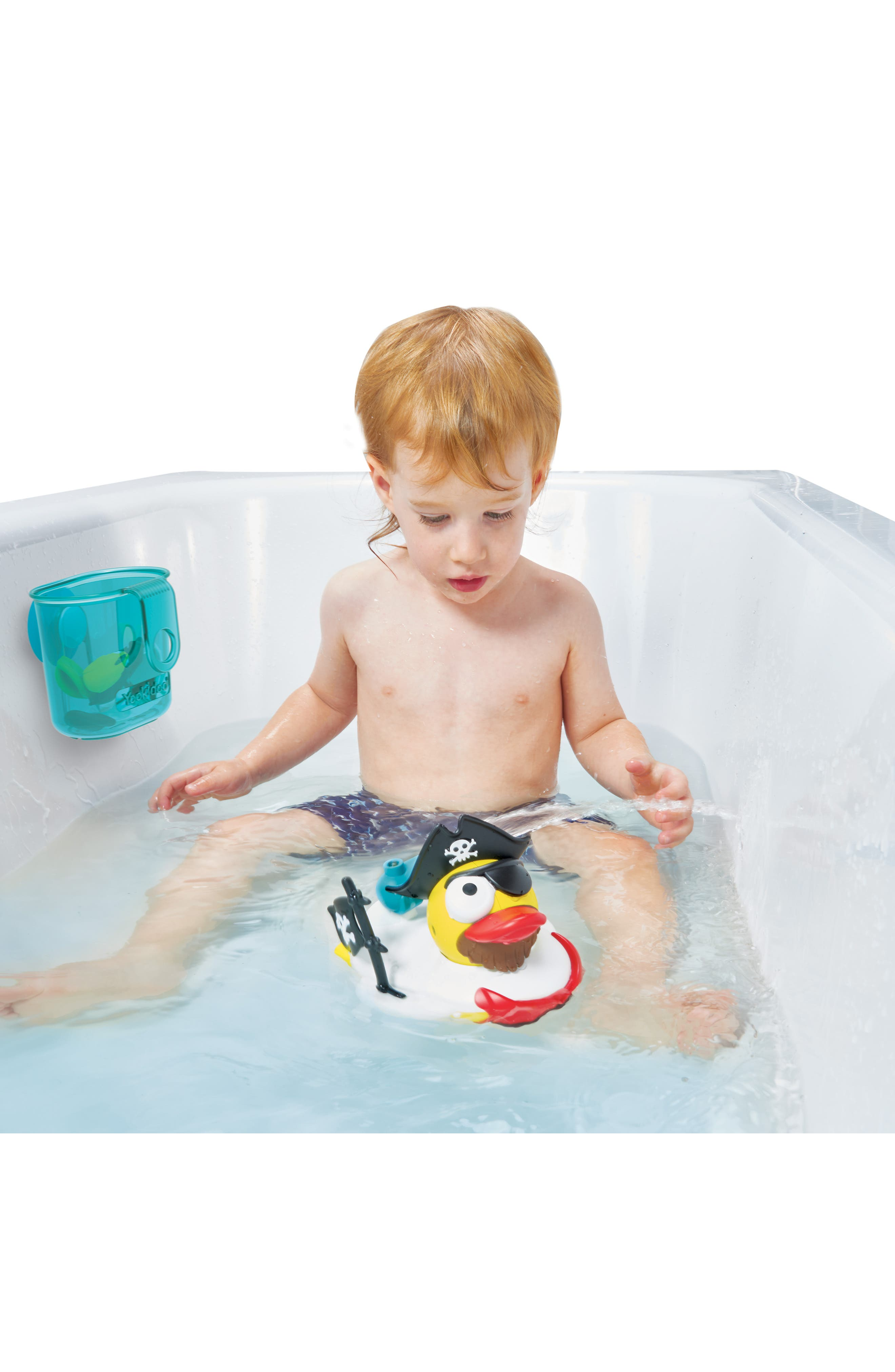 Jet Duck<sup>™</sup> Create a Pirate Bath Toy Kit,                             Alternate thumbnail 11, color,                             YELLOW