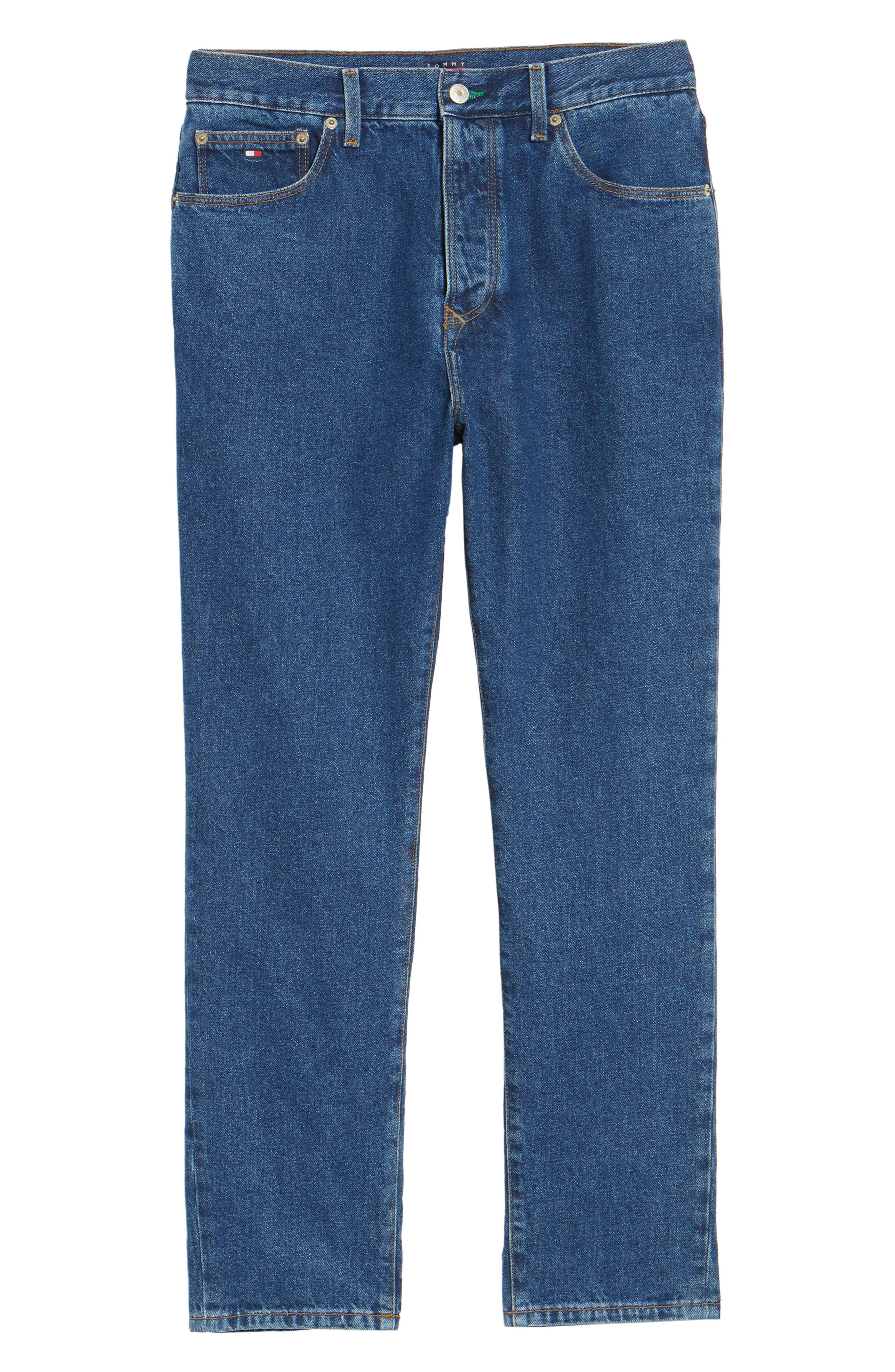 90s Classic Straight Leg Jeans,                             Alternate thumbnail 24, color,