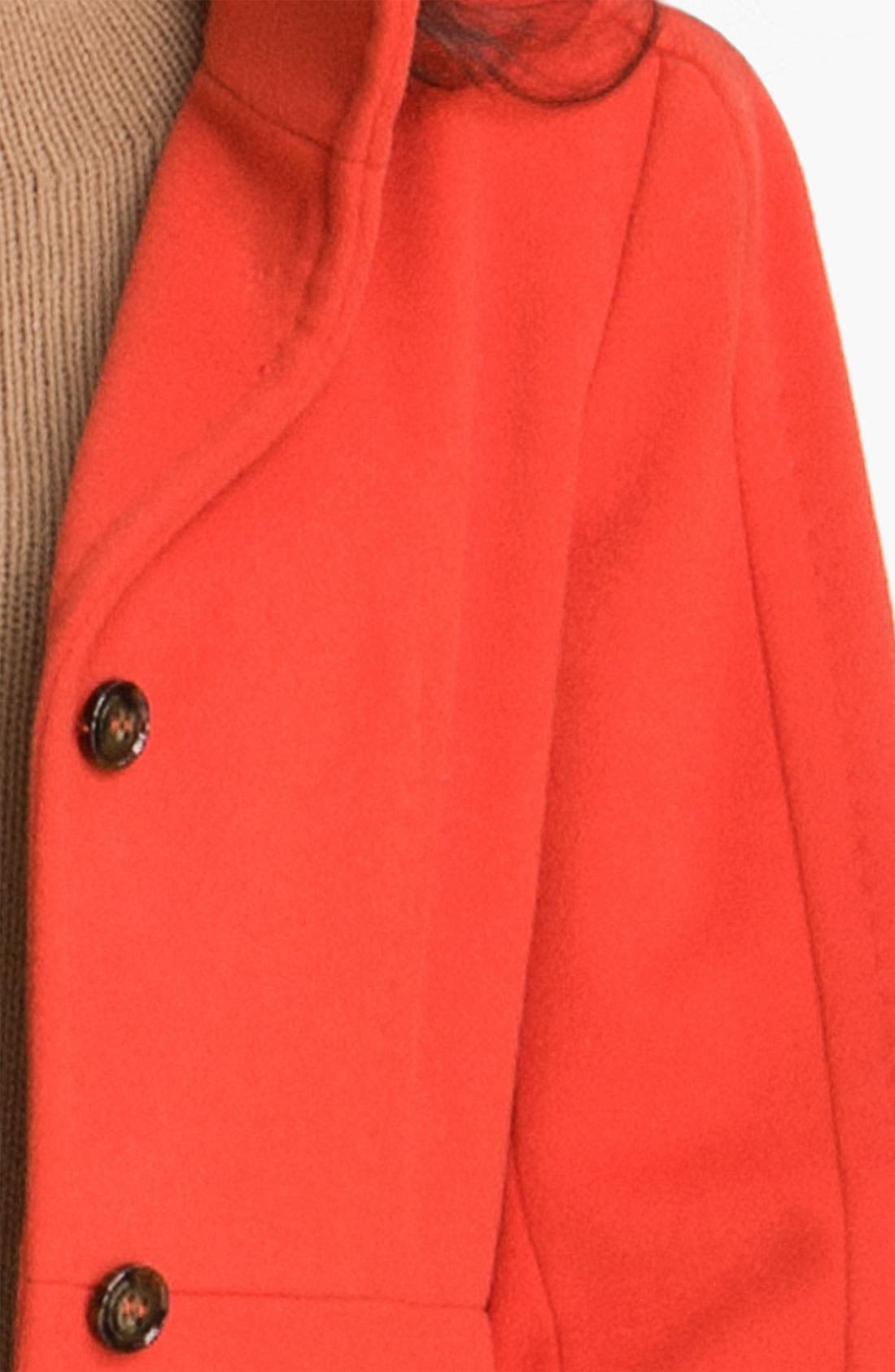 WEEKEND MAX MARA,                             'Mario' Coat,                             Alternate thumbnail 5, color,                             814