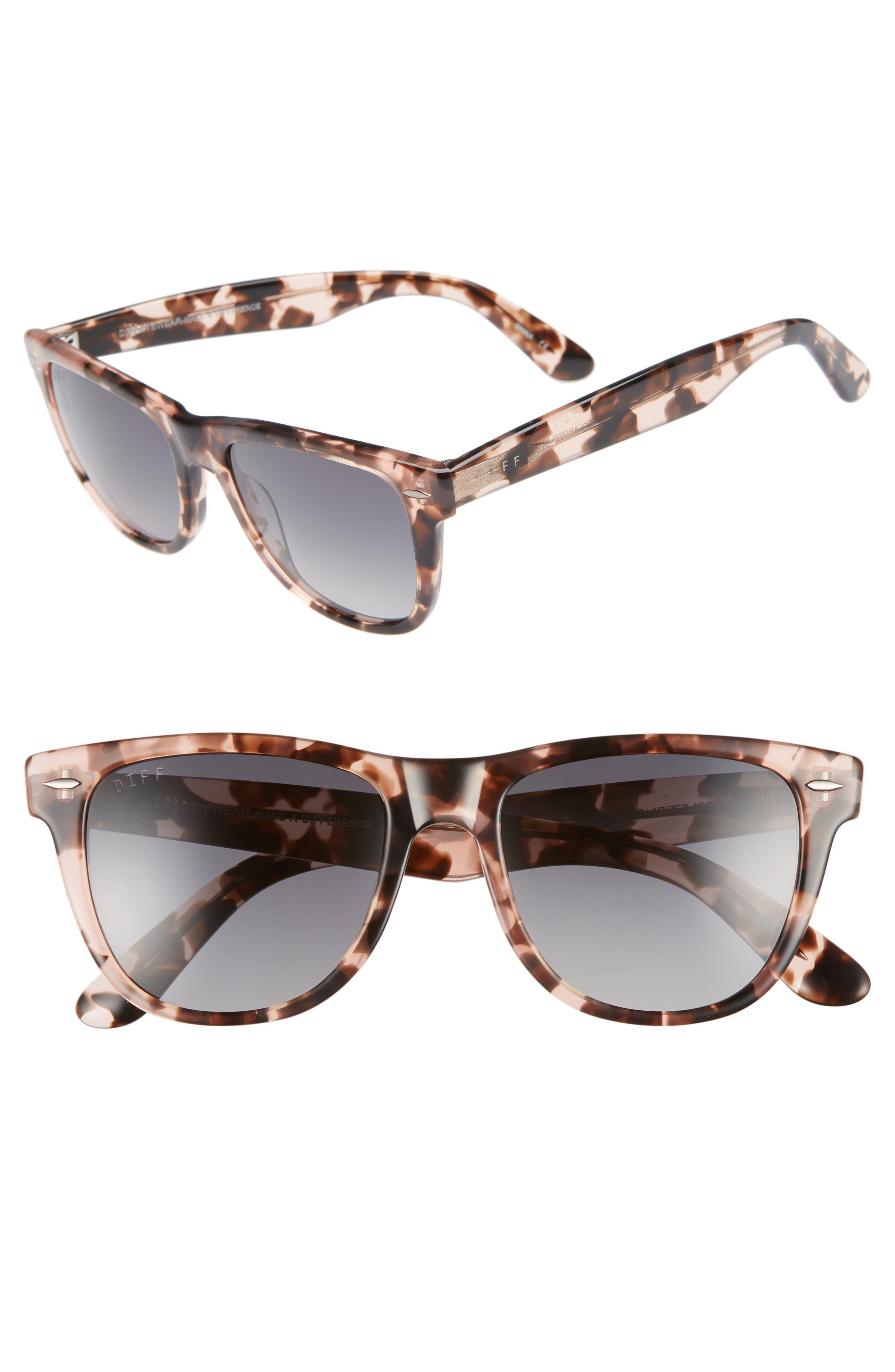 Kota 51mm Gradient Polarized Cat Eye Sunglasses,                             Main thumbnail 1, color,                             HIMALYAN/ GREY