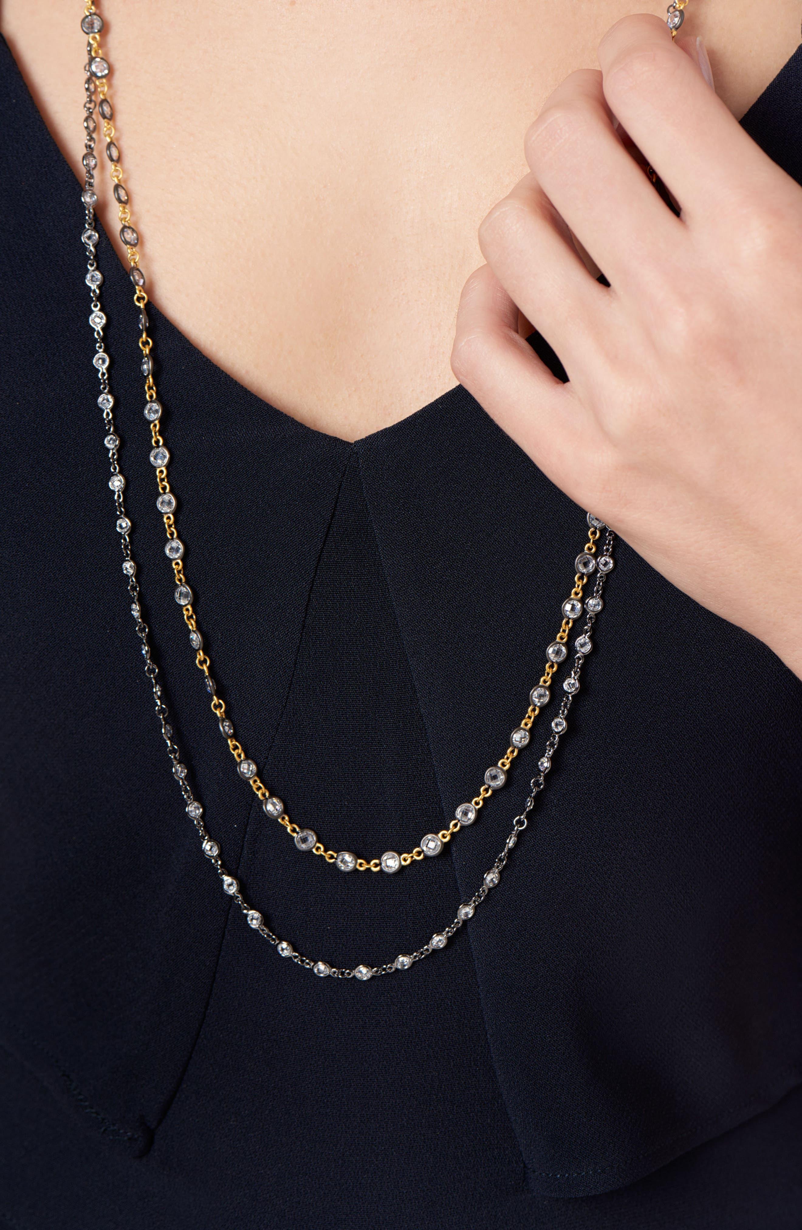 Signature Radiance Wrap Necklace,                         Main,                         color, 710