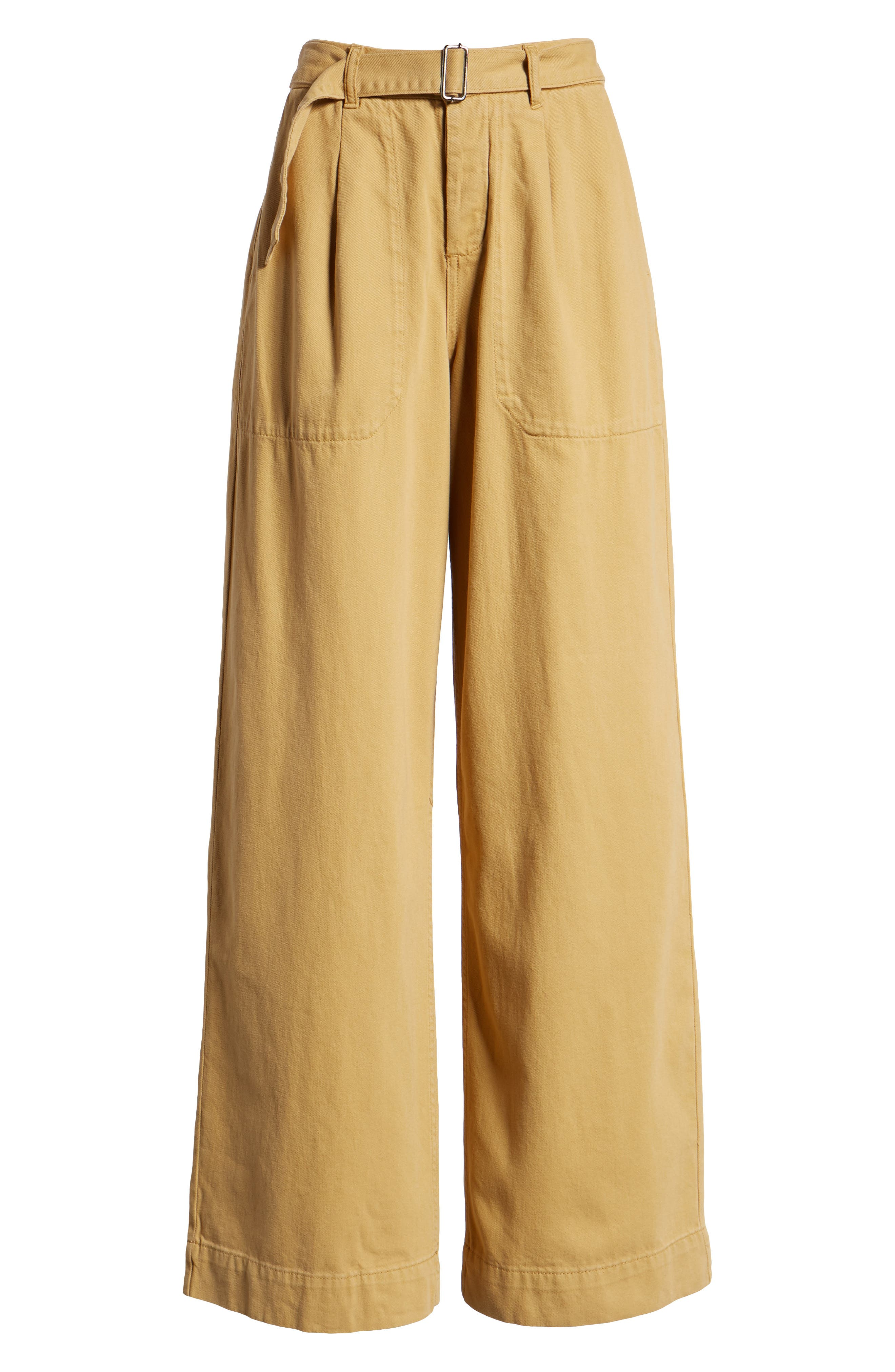 Wonder Wide Chino Trousers,                             Alternate thumbnail 6, color,                             250