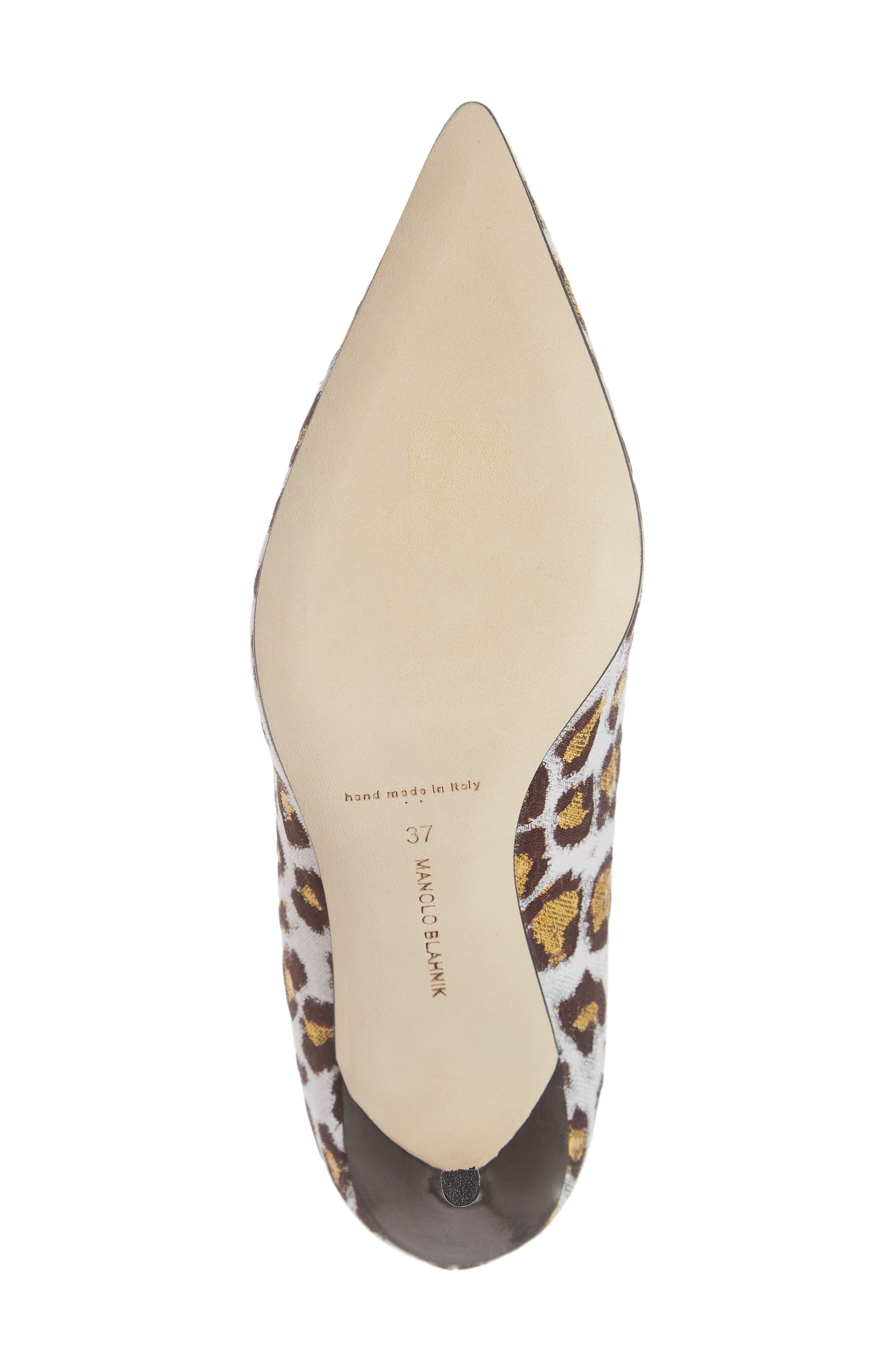 Pointy Toe Pump,                             Alternate thumbnail 6, color,                             LEOPARD