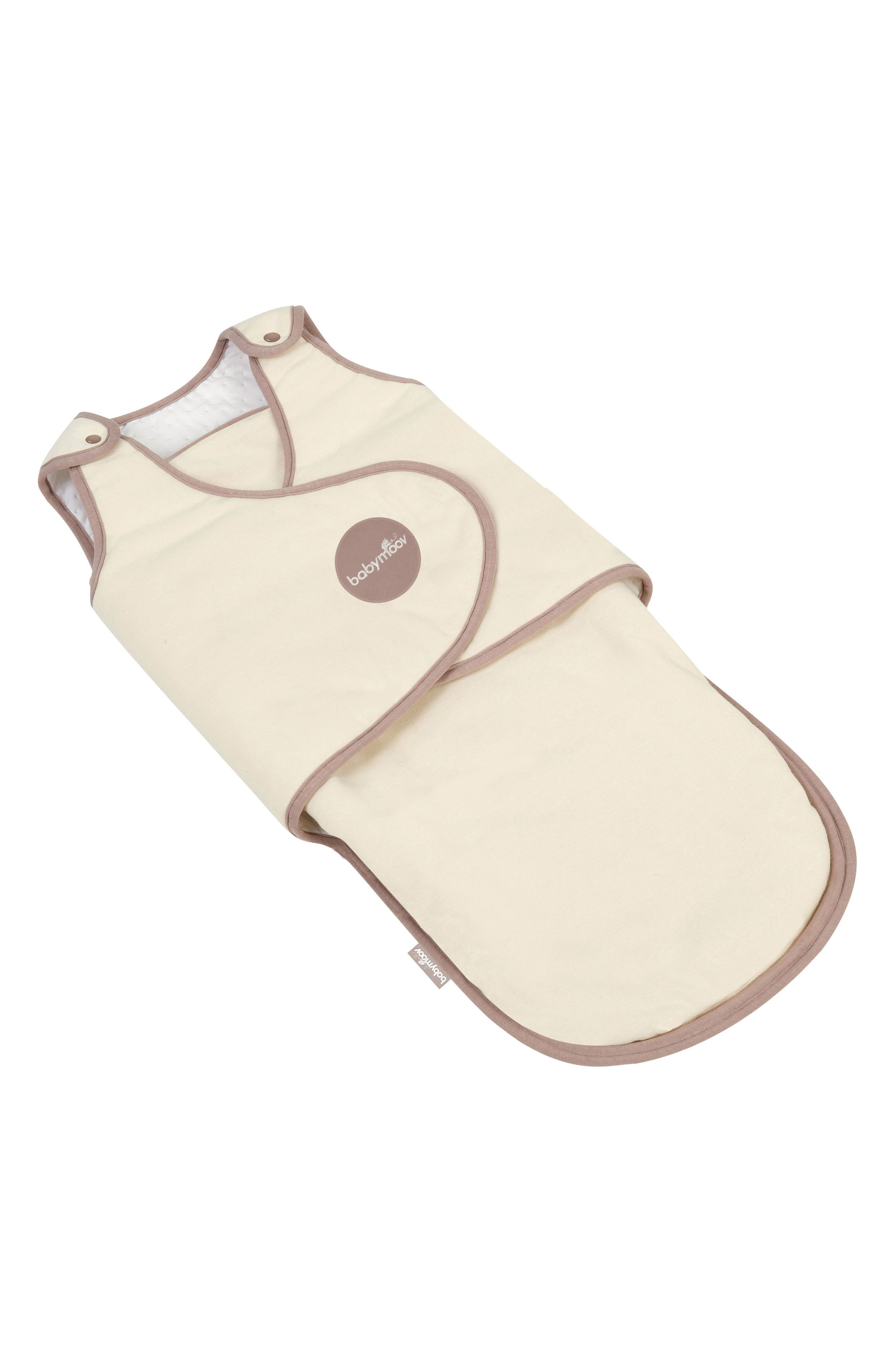 CosyBag Swaddle Wrap Blanket,                             Main thumbnail 1, color,                             CREAM