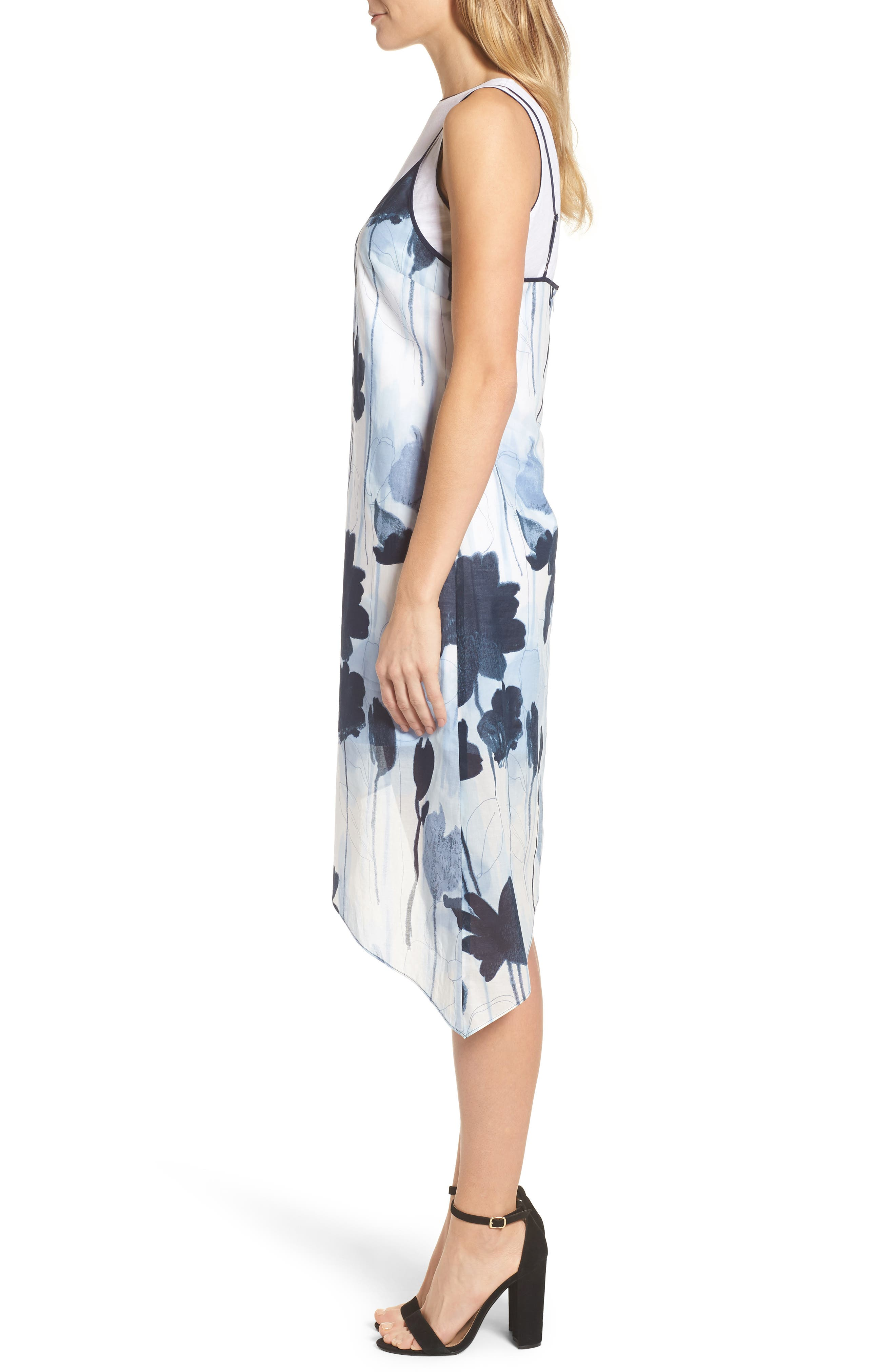 Two Layer Dress,                             Alternate thumbnail 3, color,                             483