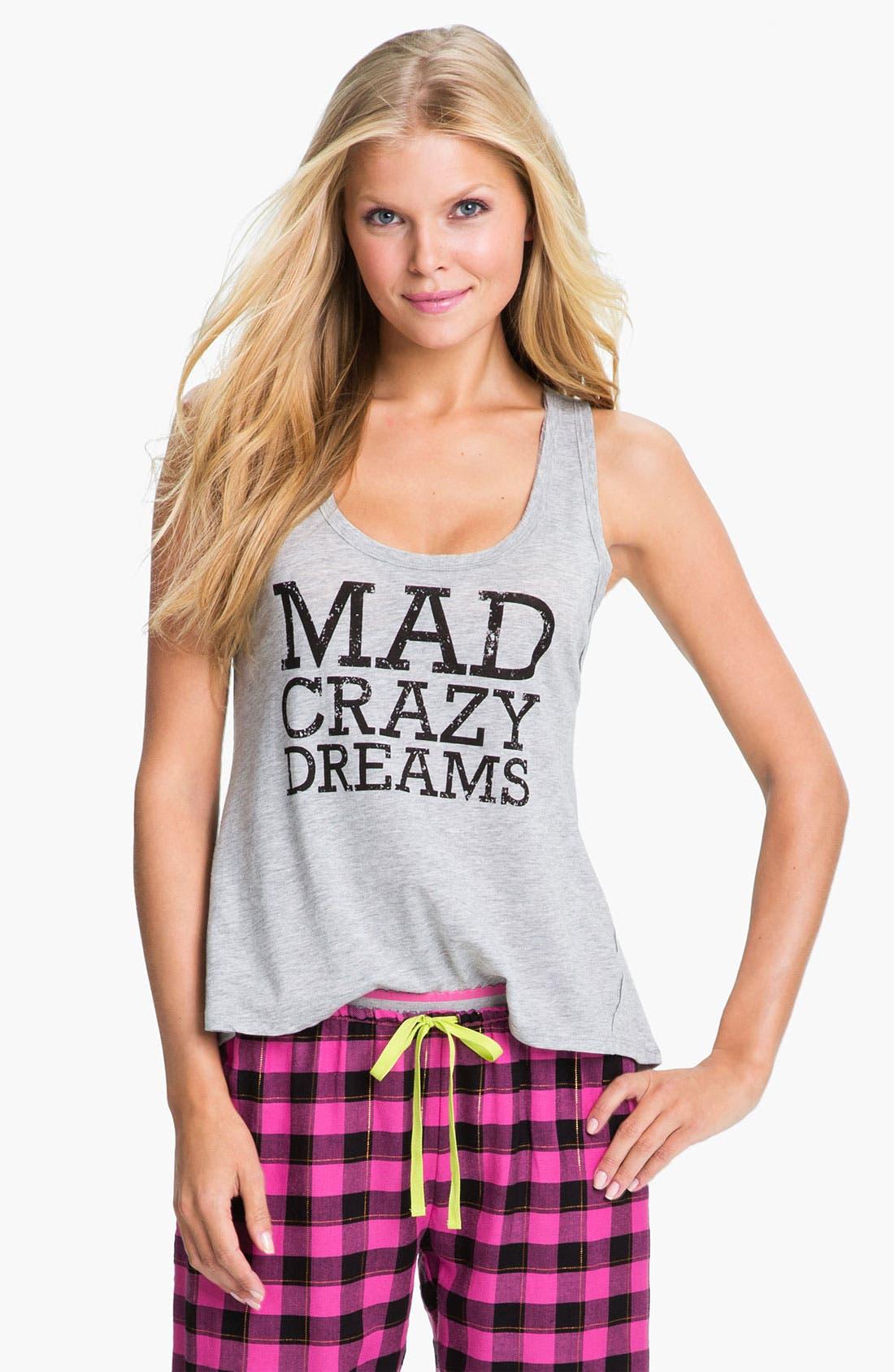 'Mad Crazy Dreams' Tank,                             Main thumbnail 2, color,