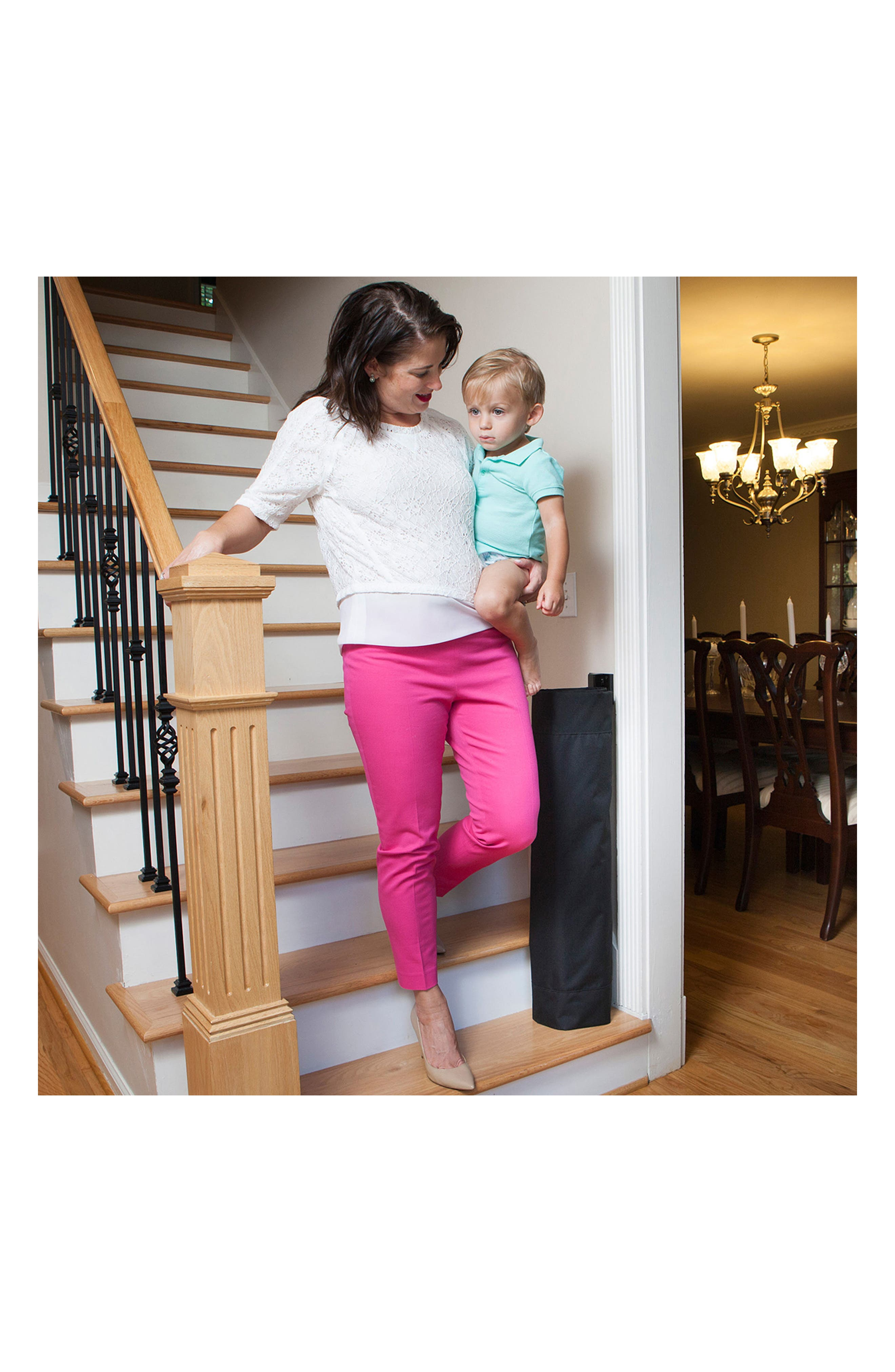 Wall to Banister Indoor Outdoor Safety Gate,                             Alternate thumbnail 10, color,                             002