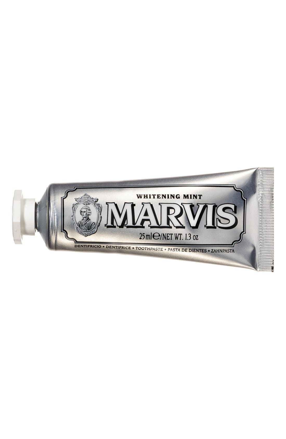 'Marvis' Whitening Mint Toothpaste,                             Alternate thumbnail 3, color,                             NO COLOR