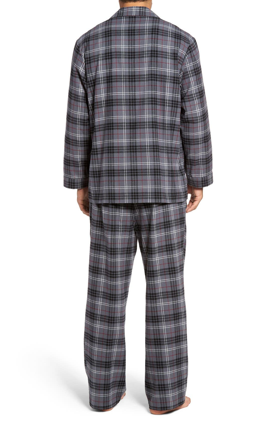 '824' Flannel Pajama Set,                             Alternate thumbnail 68, color,