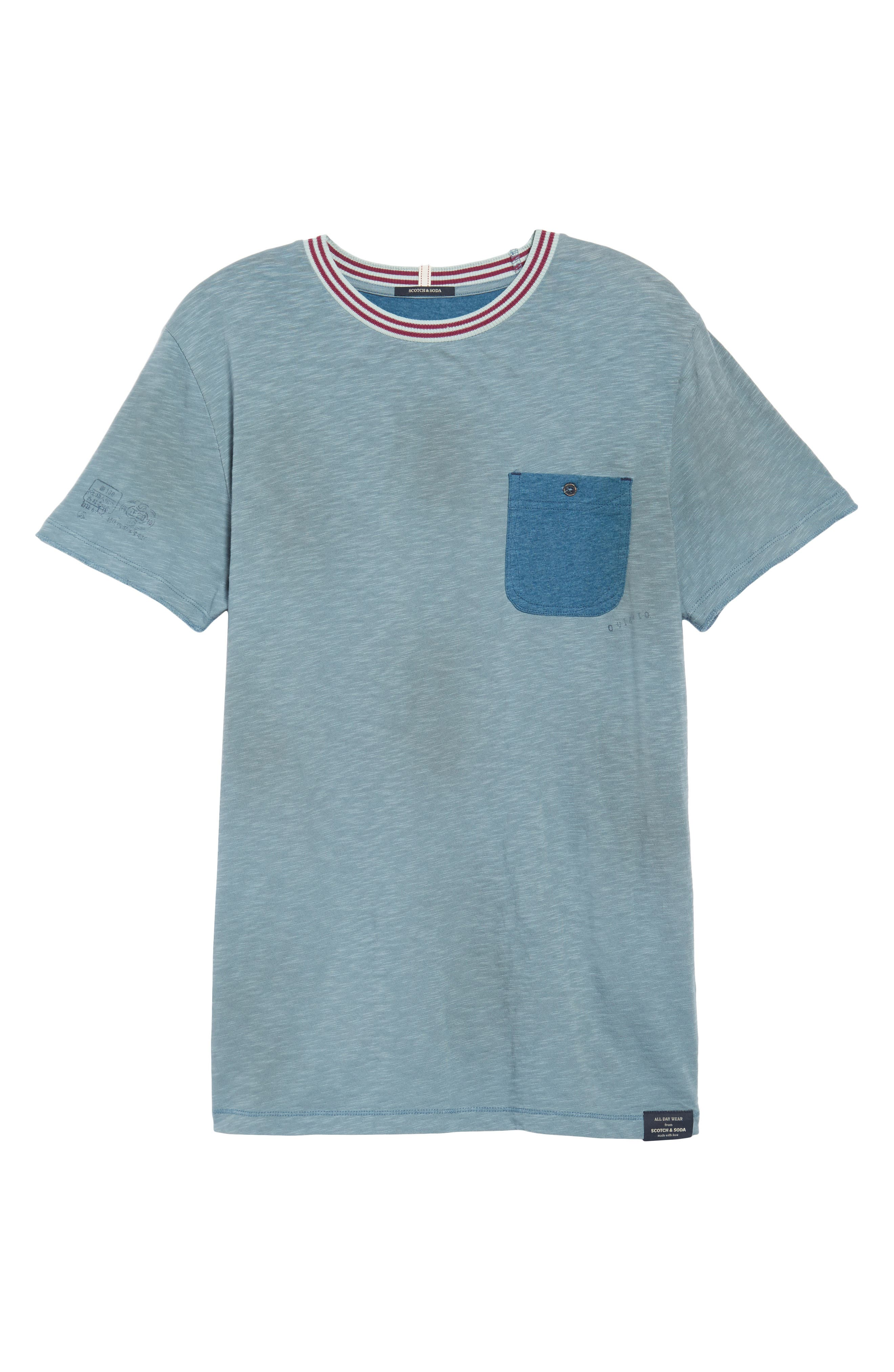 Contrast T-Shirt,                             Alternate thumbnail 6, color,                             COMBO B