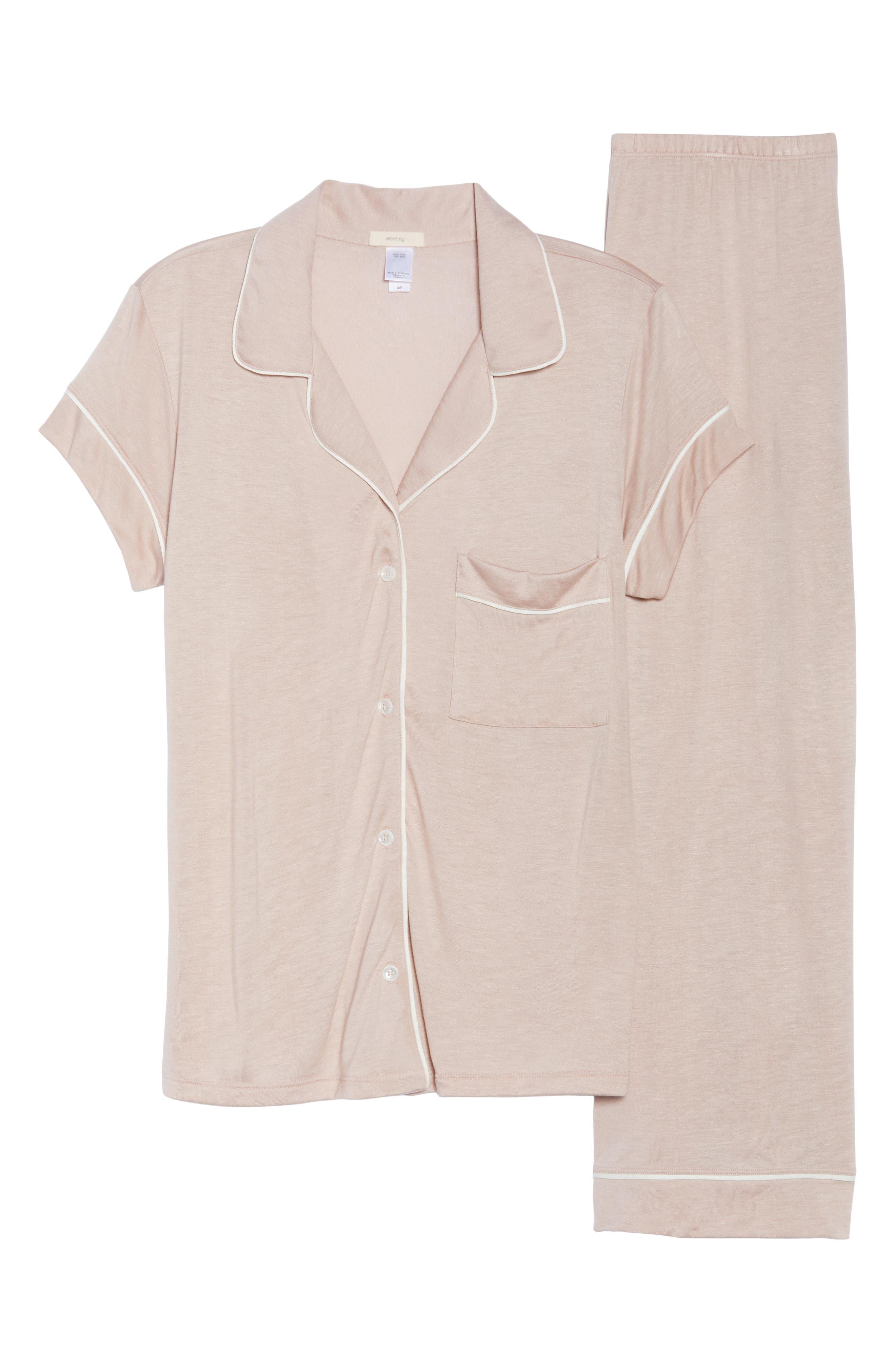 Gisele Crop Pajamas,                             Alternate thumbnail 19, color,