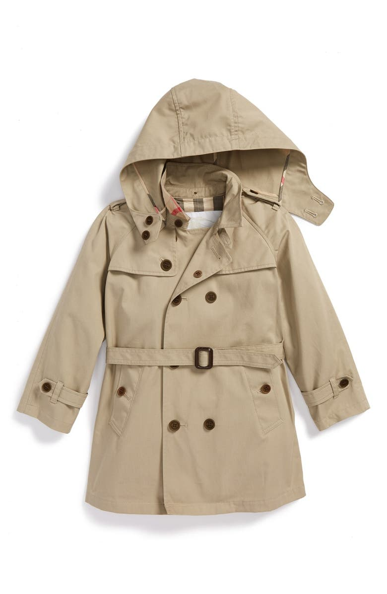a2a8b0ecb Burberry  Carlisle  Double Breasted Trench Coat (Toddler Boys ...