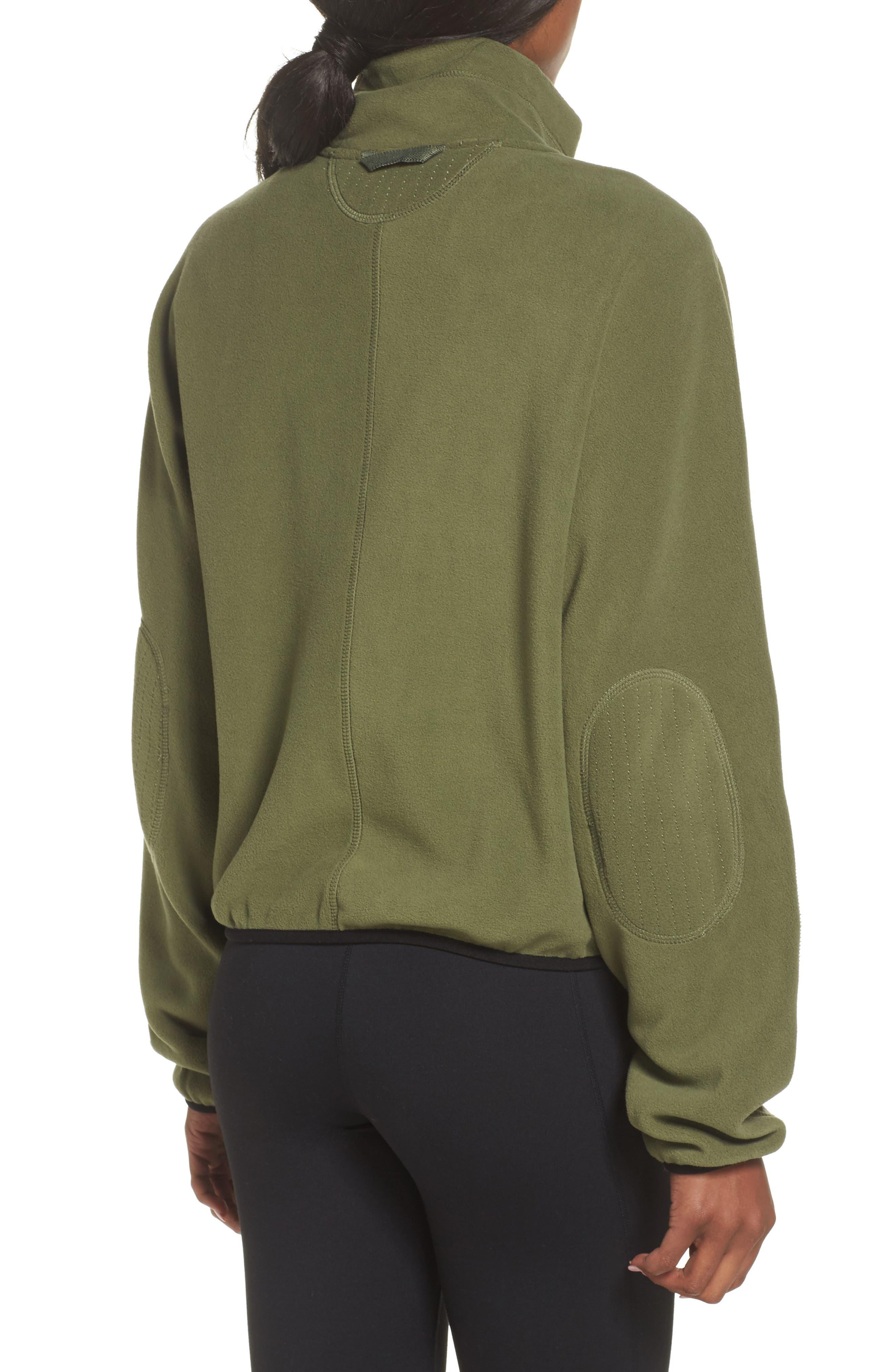 FP Movement Higher Ground Fleece Jacket,                             Alternate thumbnail 4, color,