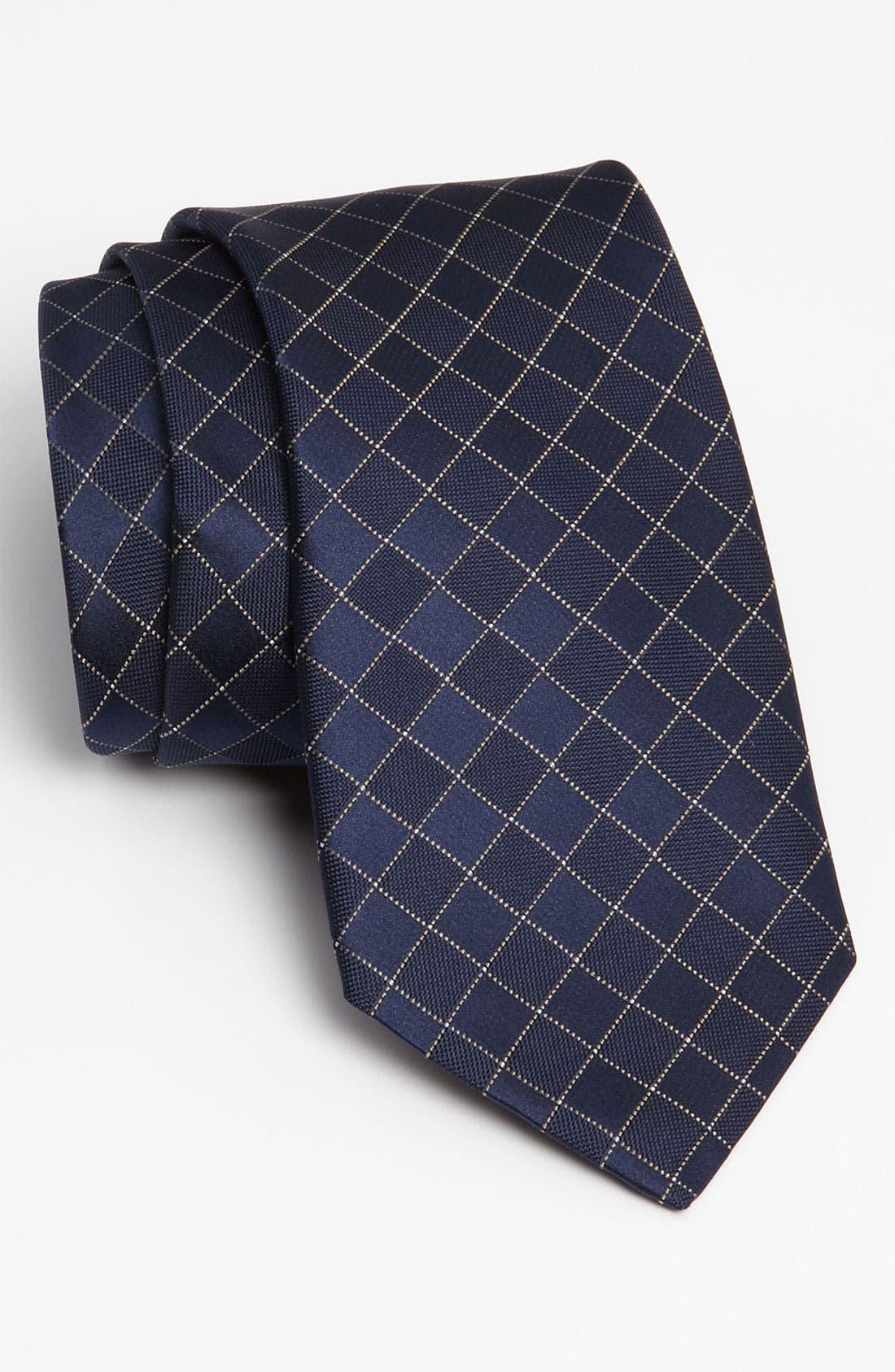 Woven Silk Tie,                             Main thumbnail 4, color,