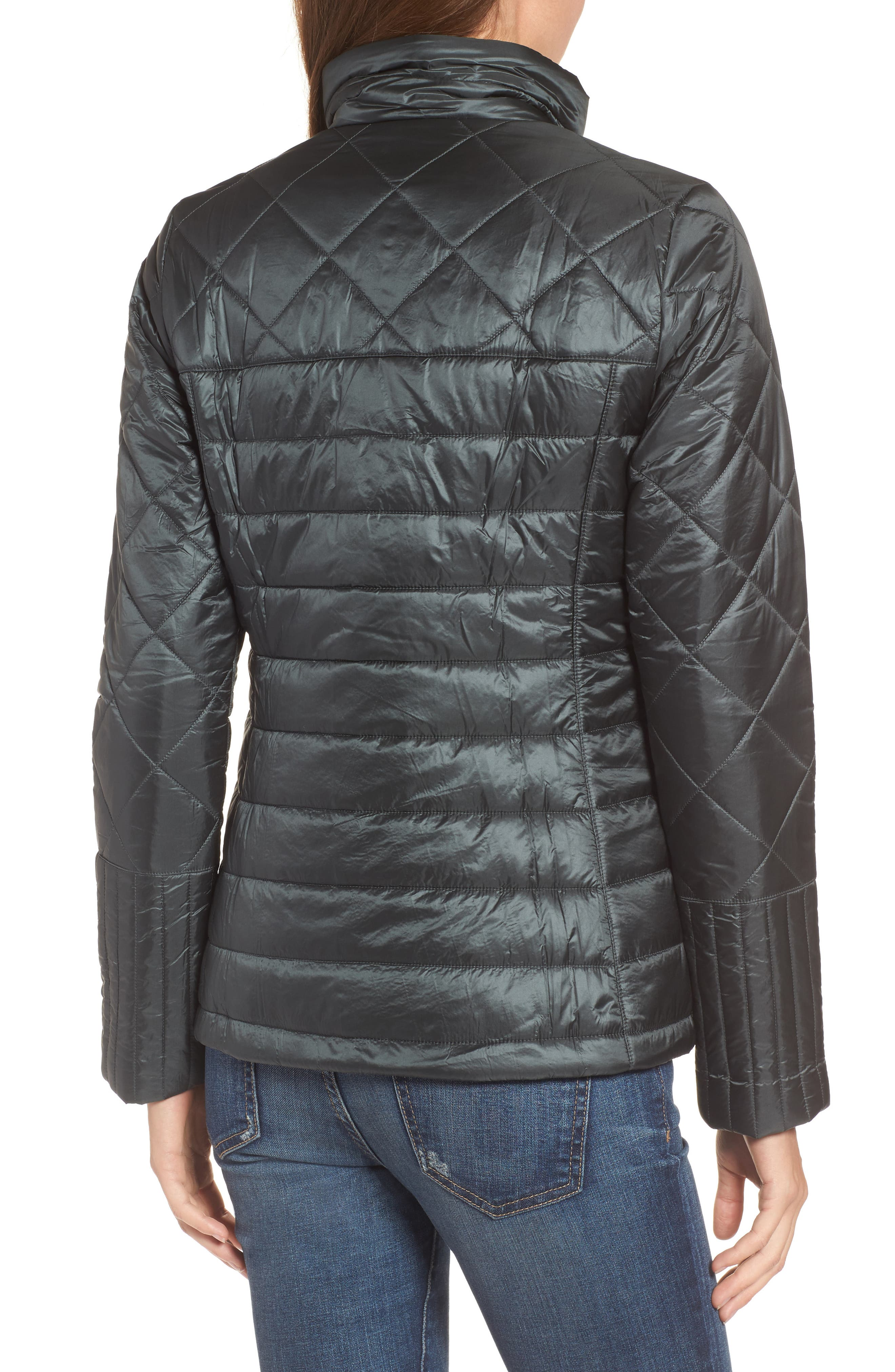 Radalie Water Repellent Thermogreen-Insulated Jacket,                             Alternate thumbnail 2, color,                             FORGE GREY