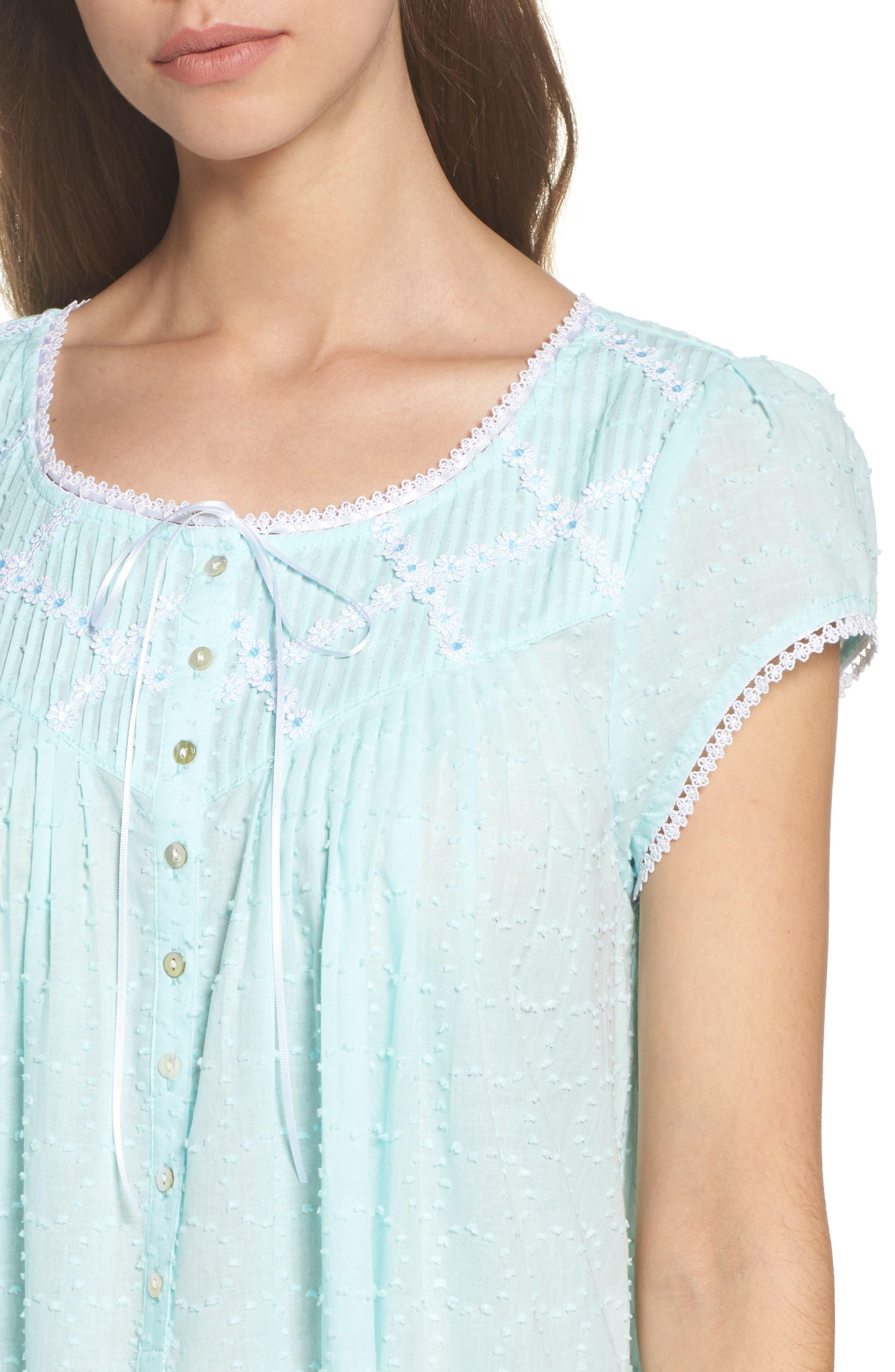 Cotton Ballet Nightgown,                             Alternate thumbnail 4, color,                             400
