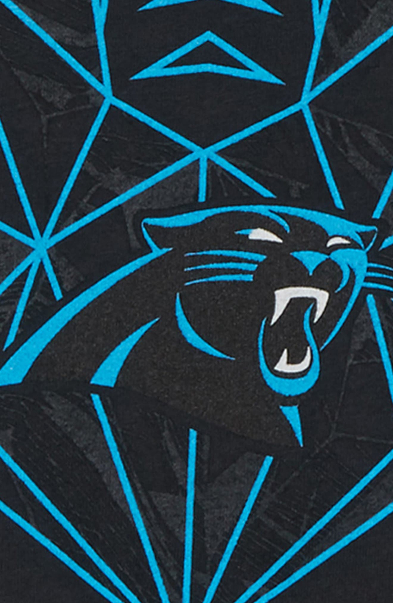 NFL Panthers T-Shirt,                             Alternate thumbnail 2, color,                             BLACK