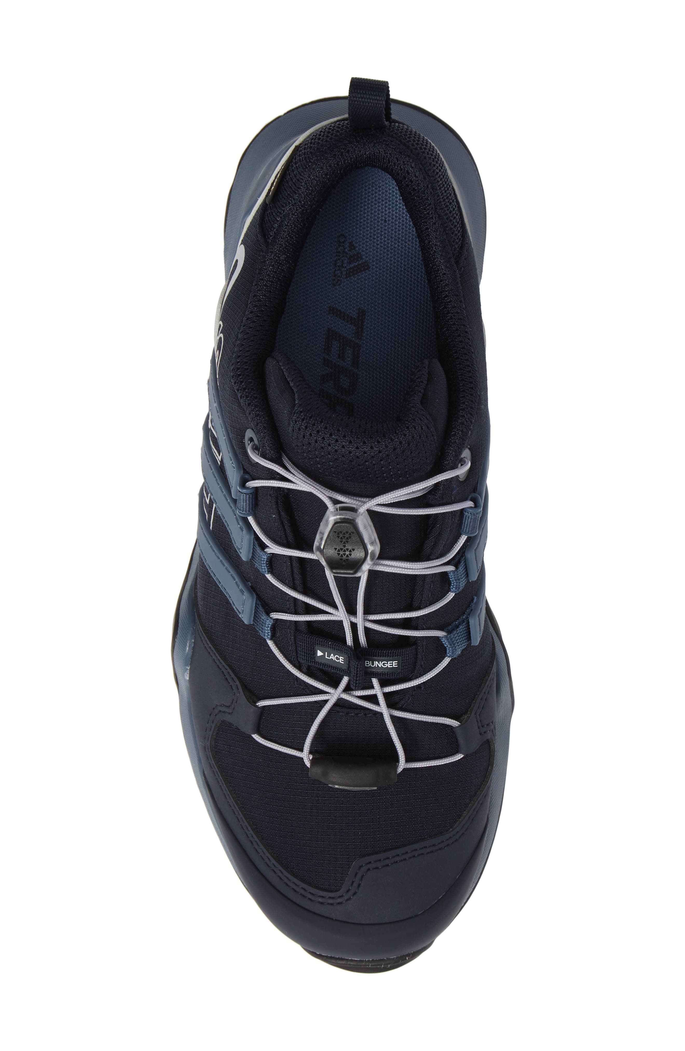 Terrex Swift R2 Gore-Tex<sup>®</sup> Hiking Shoe,                             Alternate thumbnail 5, color,                             LEGEND INK/ TECH INK/ GREY