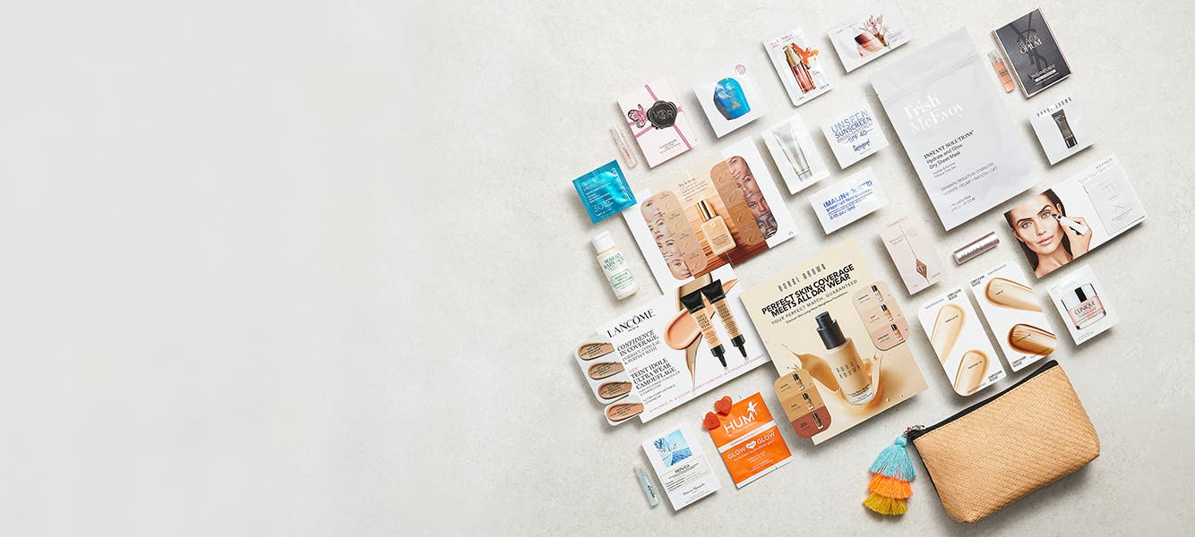 Free gift with $125 beauty or fragrance purchase.