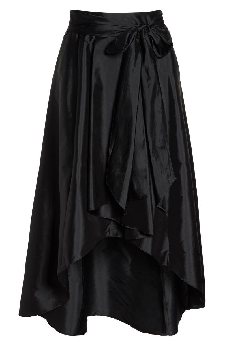 a04f2b5c39e Adrianna Papell High Low Taffeta Skirt (Plus Size)