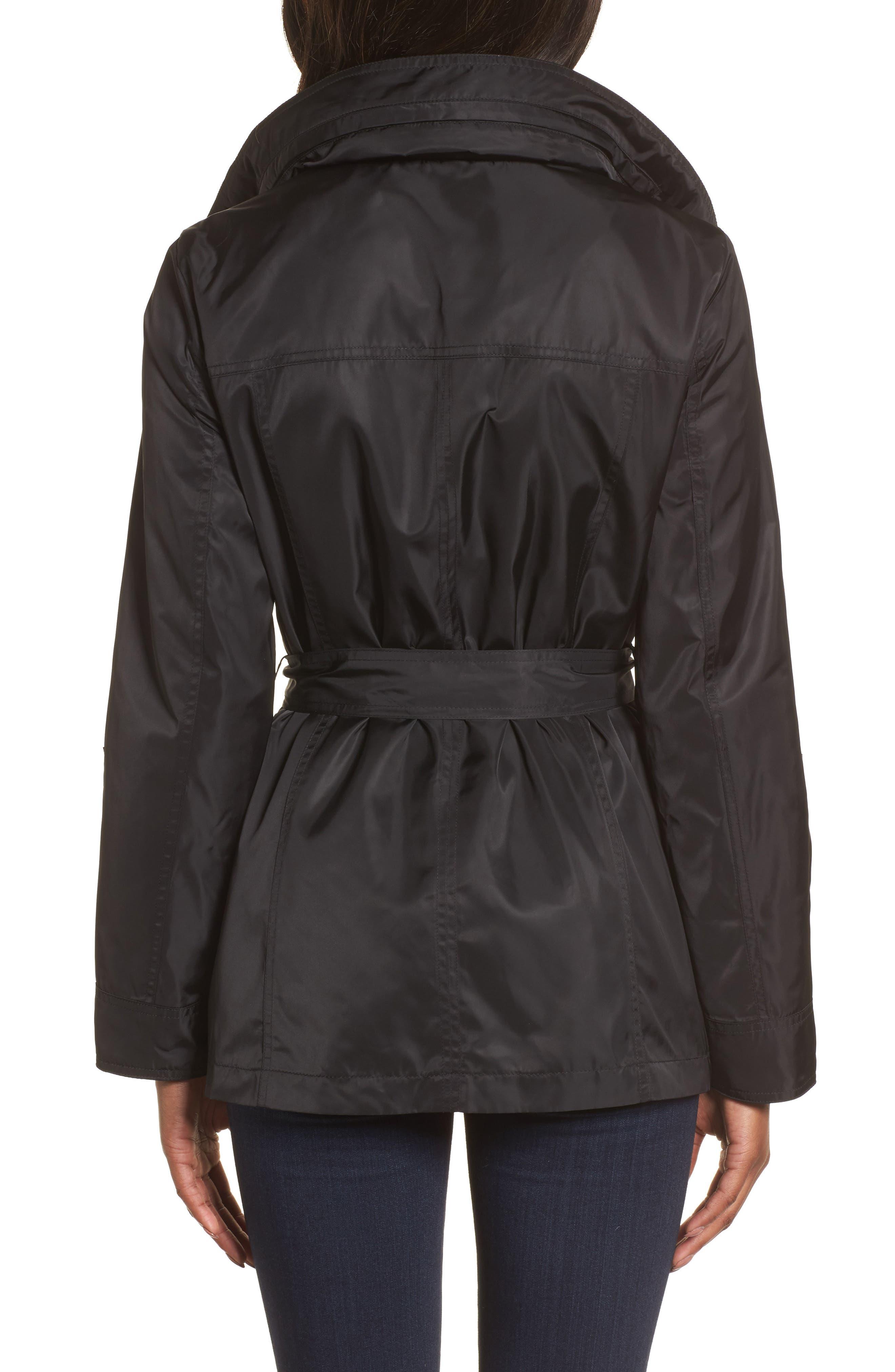 Belted Lightweight Jacket,                             Alternate thumbnail 2, color,                             001