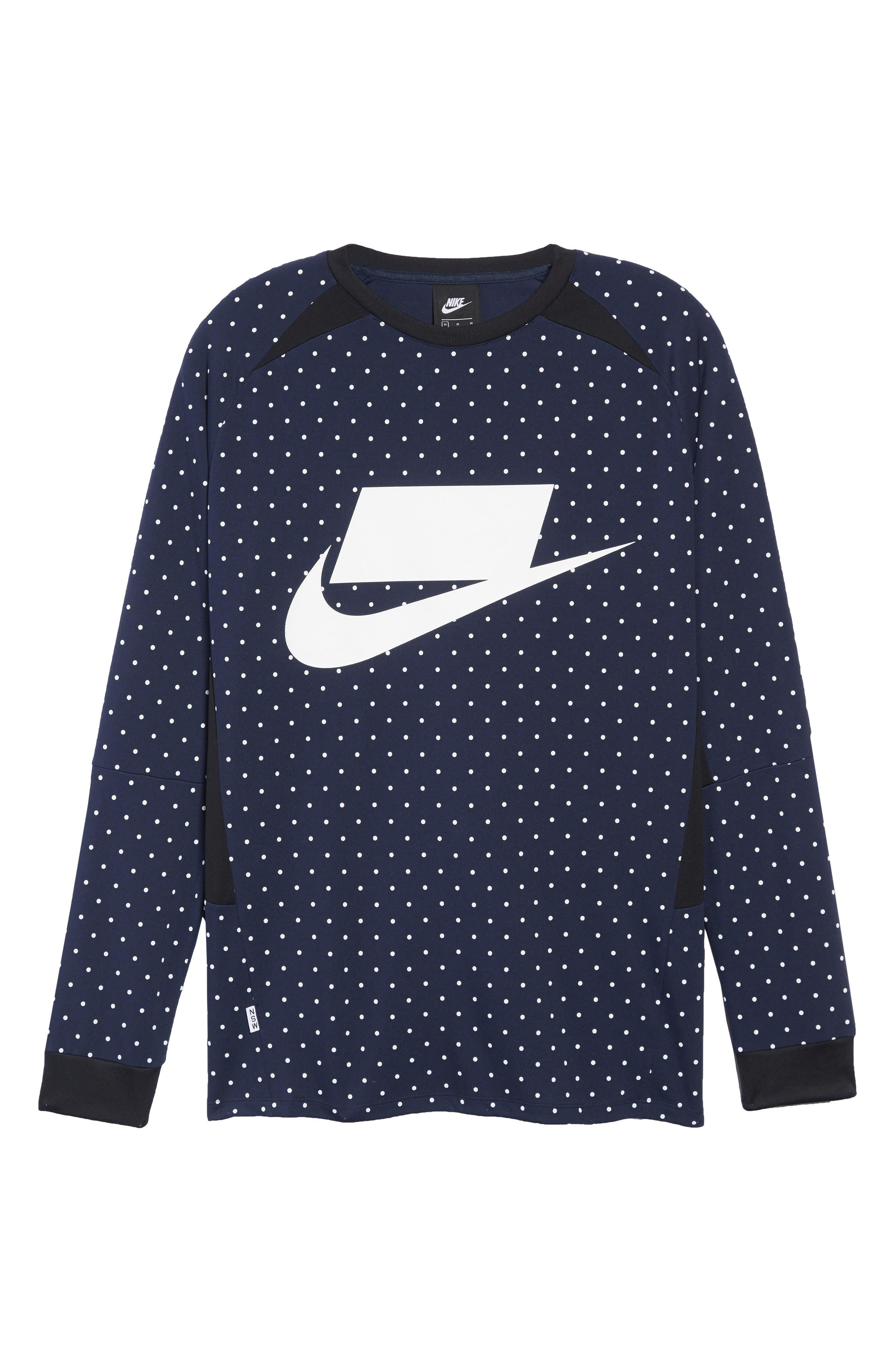 NSW Long Sleeve Shirt,                             Alternate thumbnail 6, color,                             451