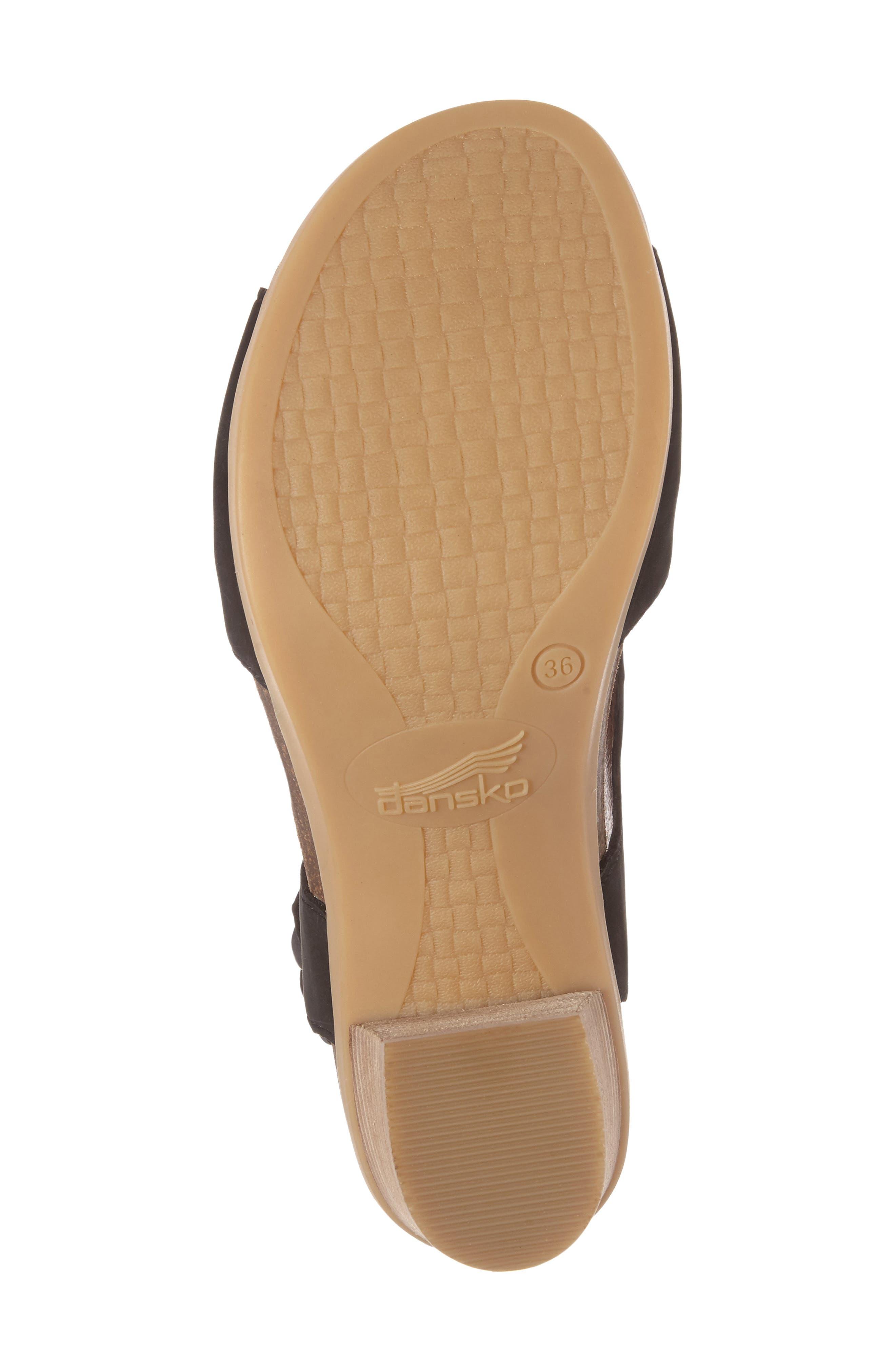 Deandra Studded Sandal,                             Alternate thumbnail 4, color,                             001