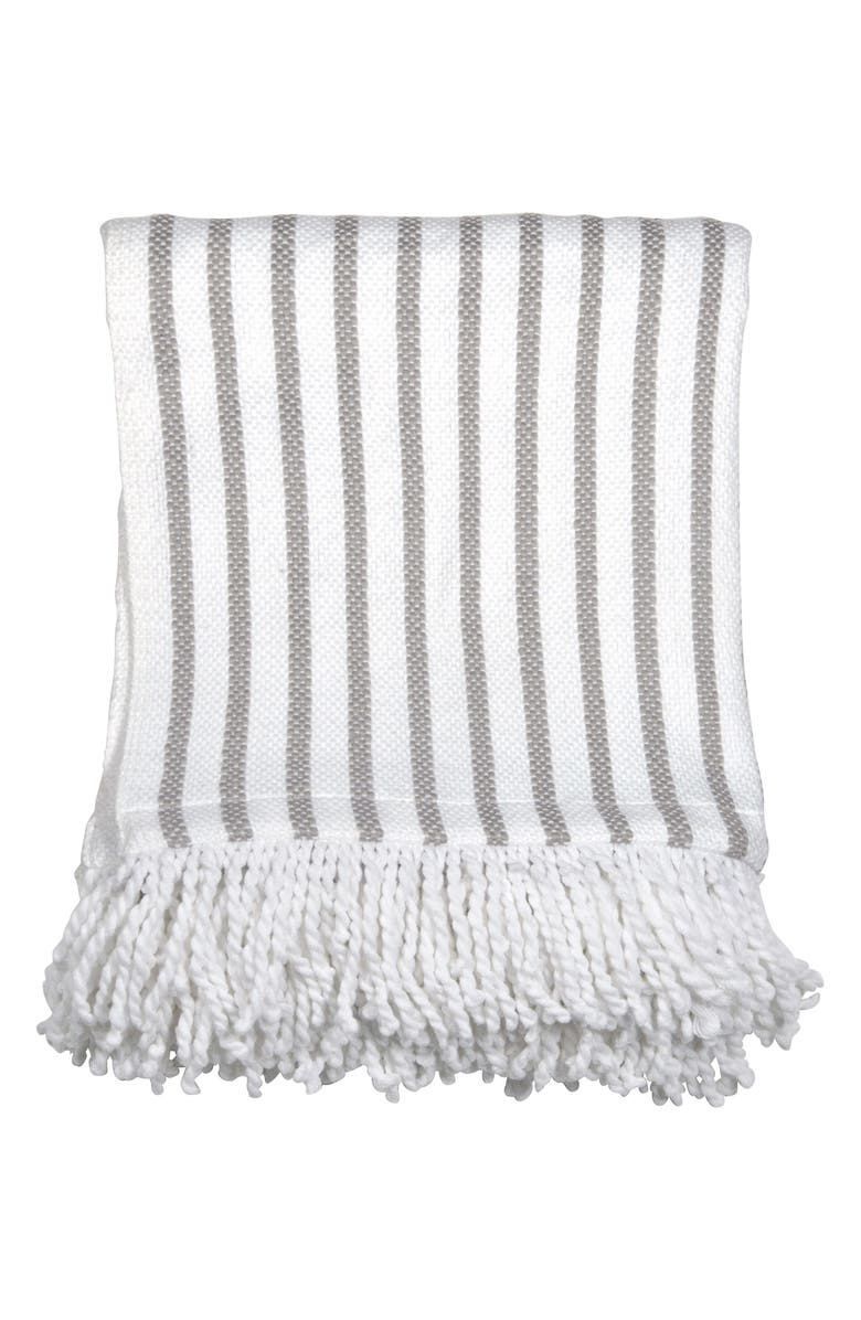 Peri Home Fringe Throw Blanket | Nordstrom